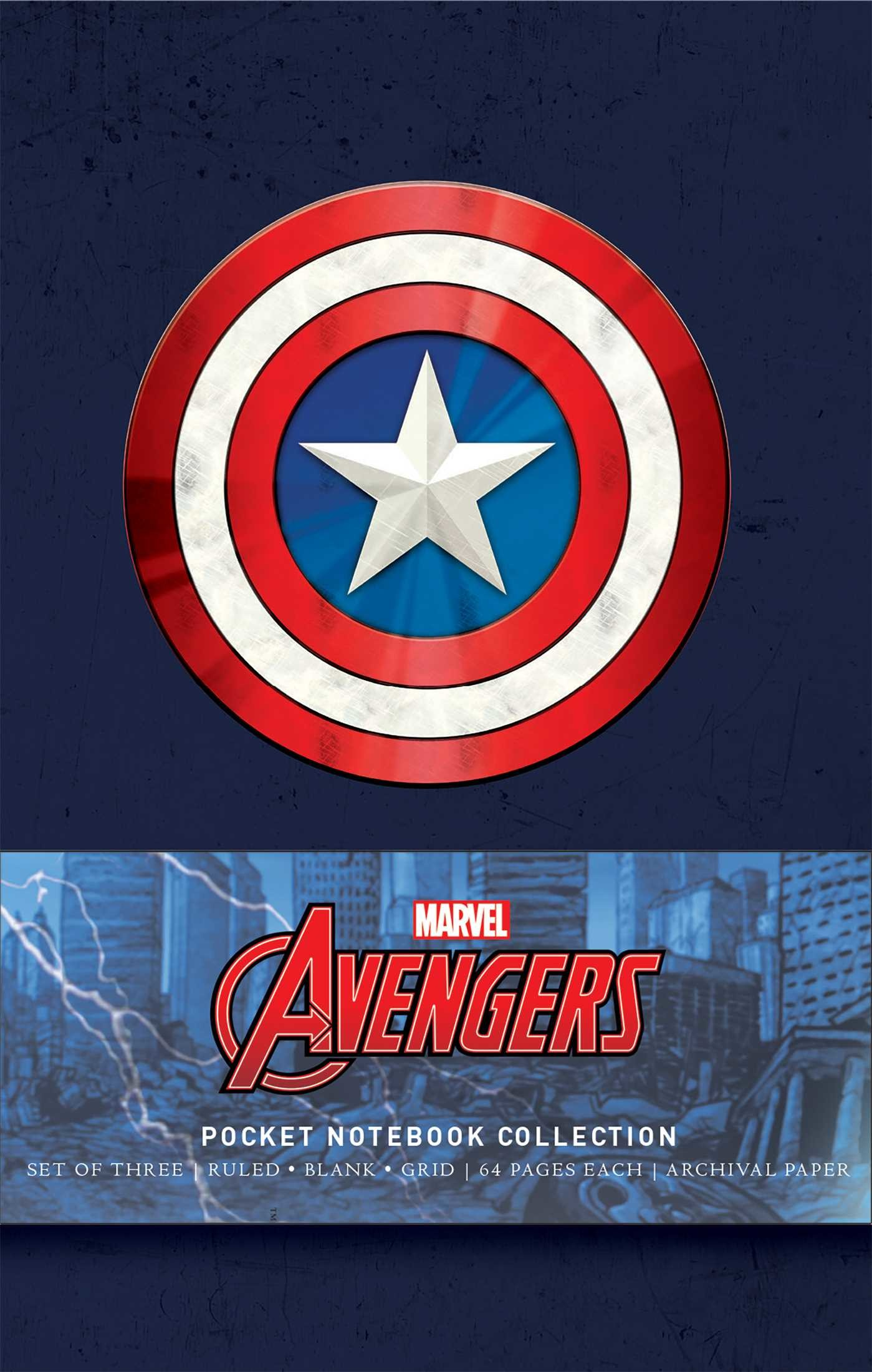 Marvels avengers pocket notebook collection set of 3 9781683832843.in01