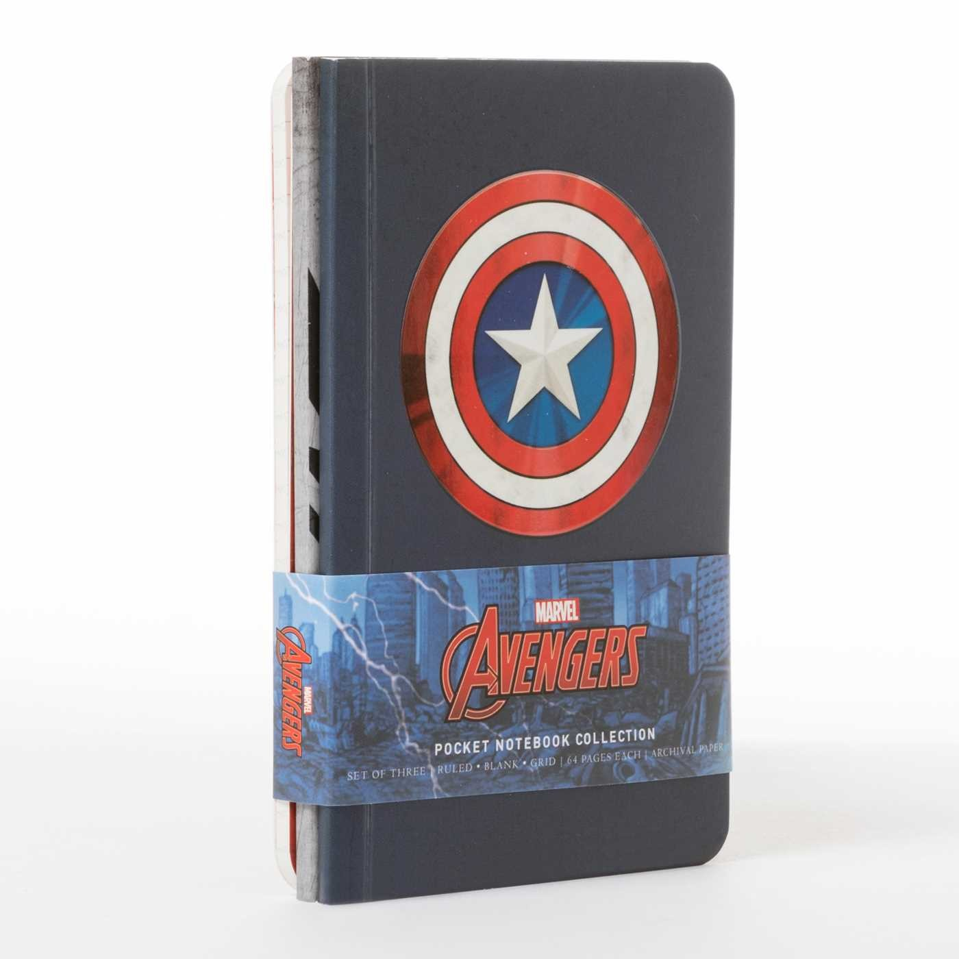Marvels avengers pocket notebook collection set of 3 9781683832843.in04