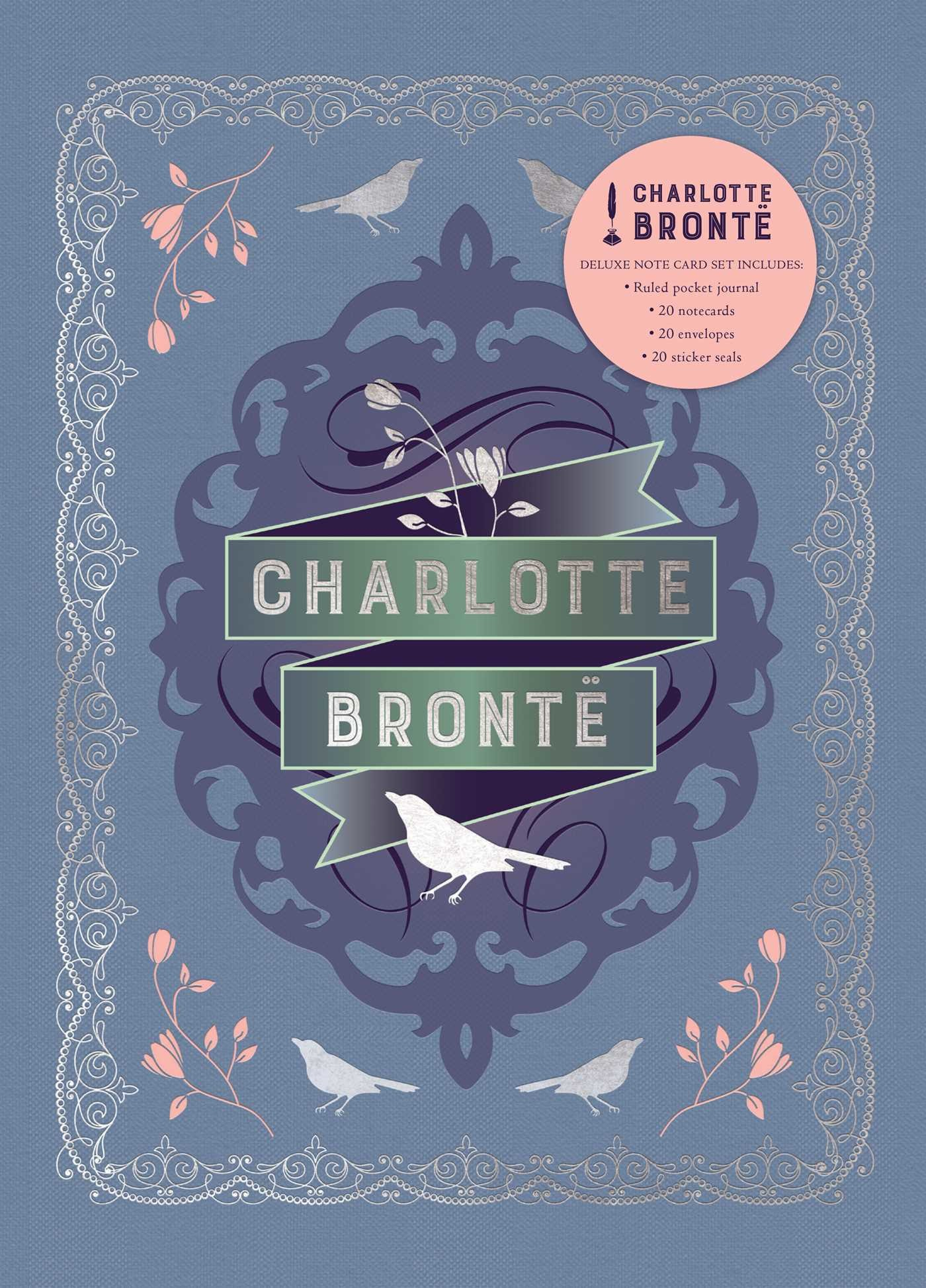 Charlotte bronte deluxe note card set with keepsake book box 9781683833109.in01