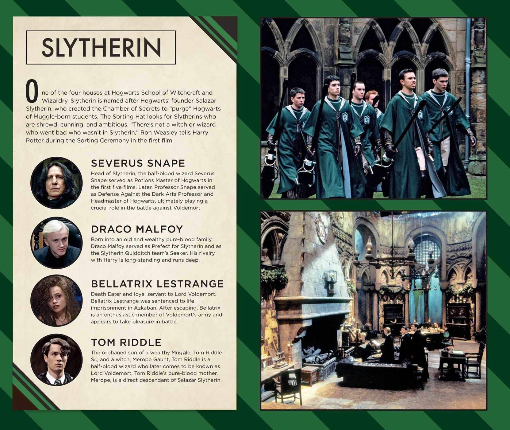 Harry potter slytherin hardcover ruled journal 9781683833185.in02