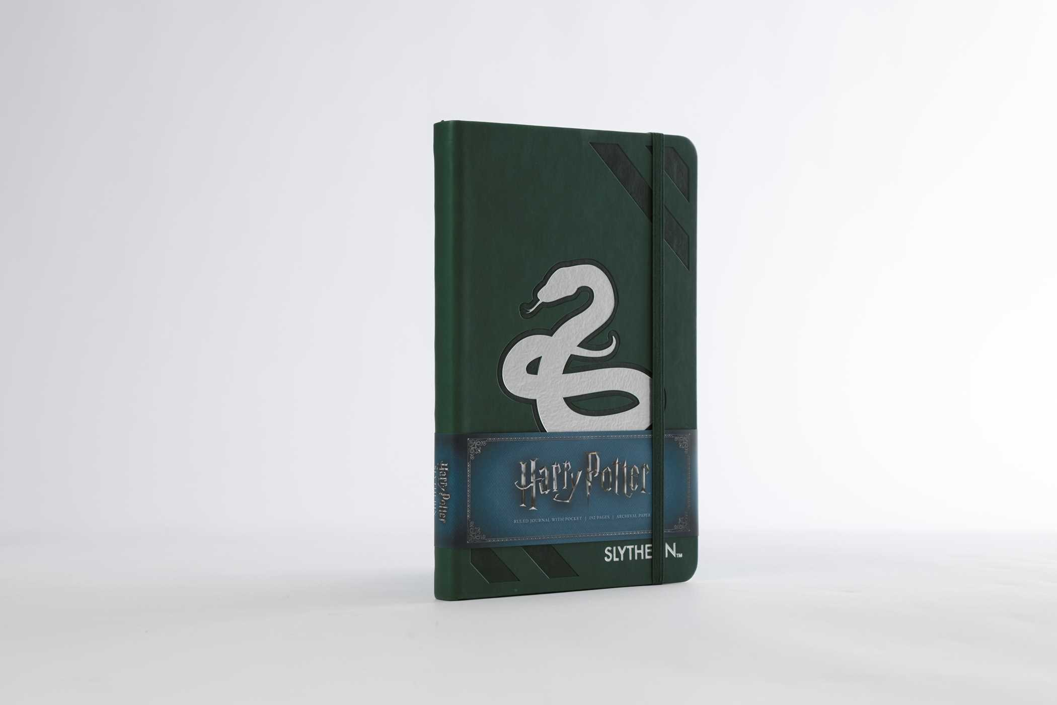 Harry potter slytherin hardcover ruled journal 9781683833185.in06