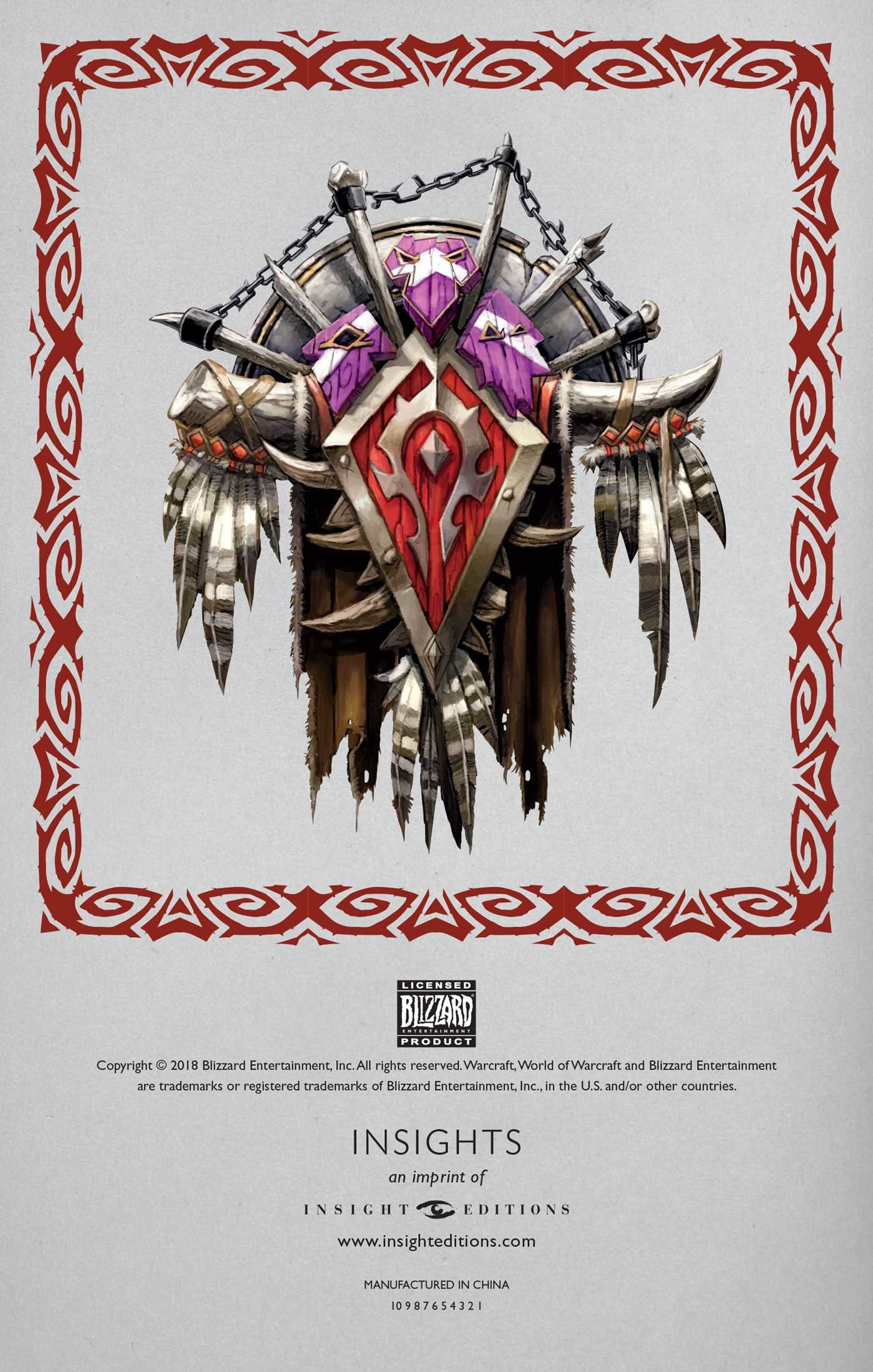 World of warcraft horde hardcover ruled journal 9781683833260.in01