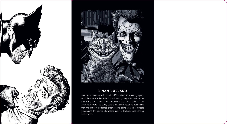 Dc comics the joker hardcover ruled journal artist edition 9781683833307.in02