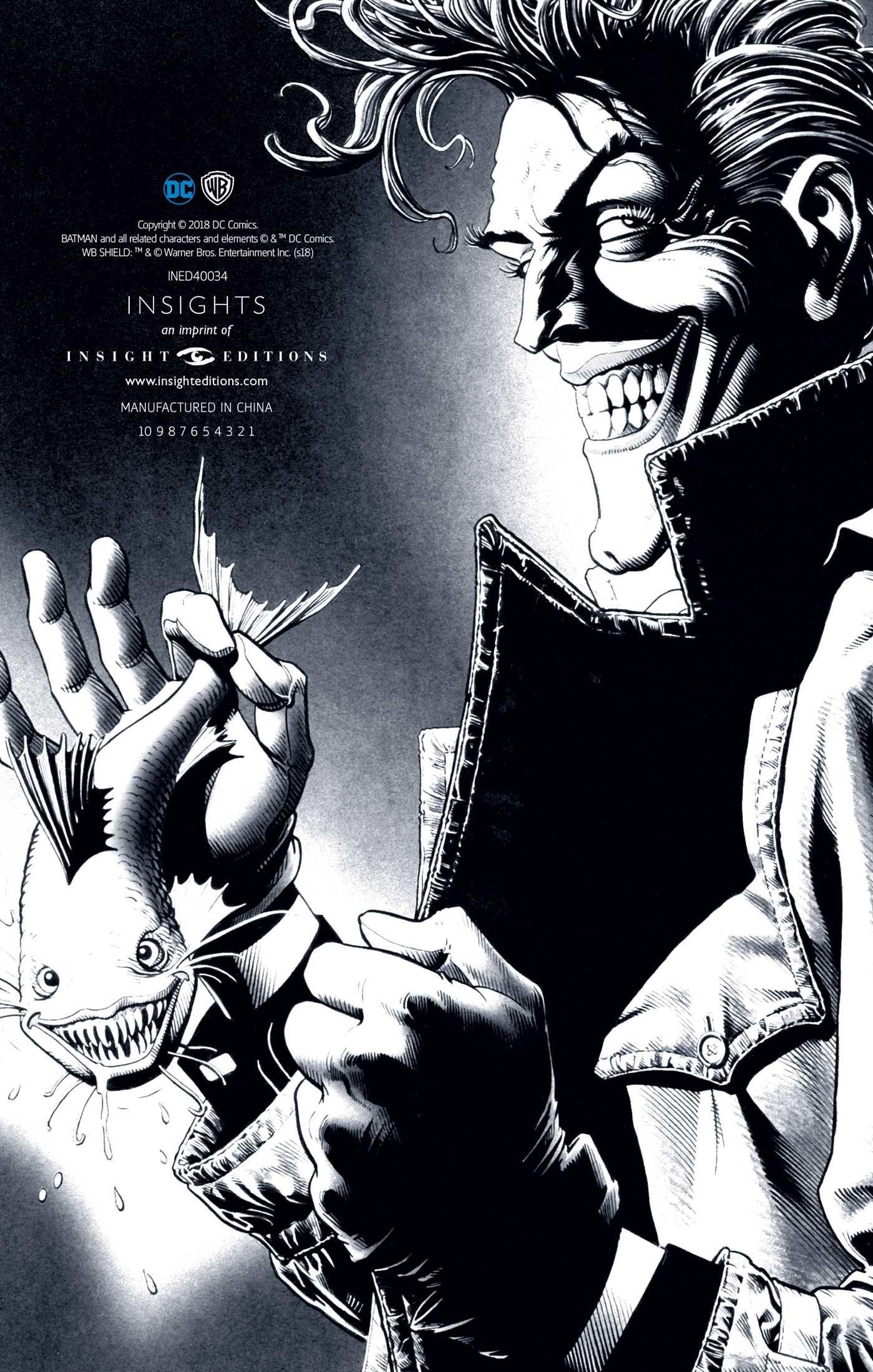 Dc comics the joker hardcover ruled journal artist edition 9781683833307.in03