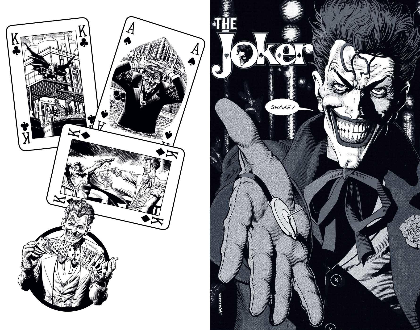 Dc comics the joker hardcover ruled journal artist edition 9781683833307.in04