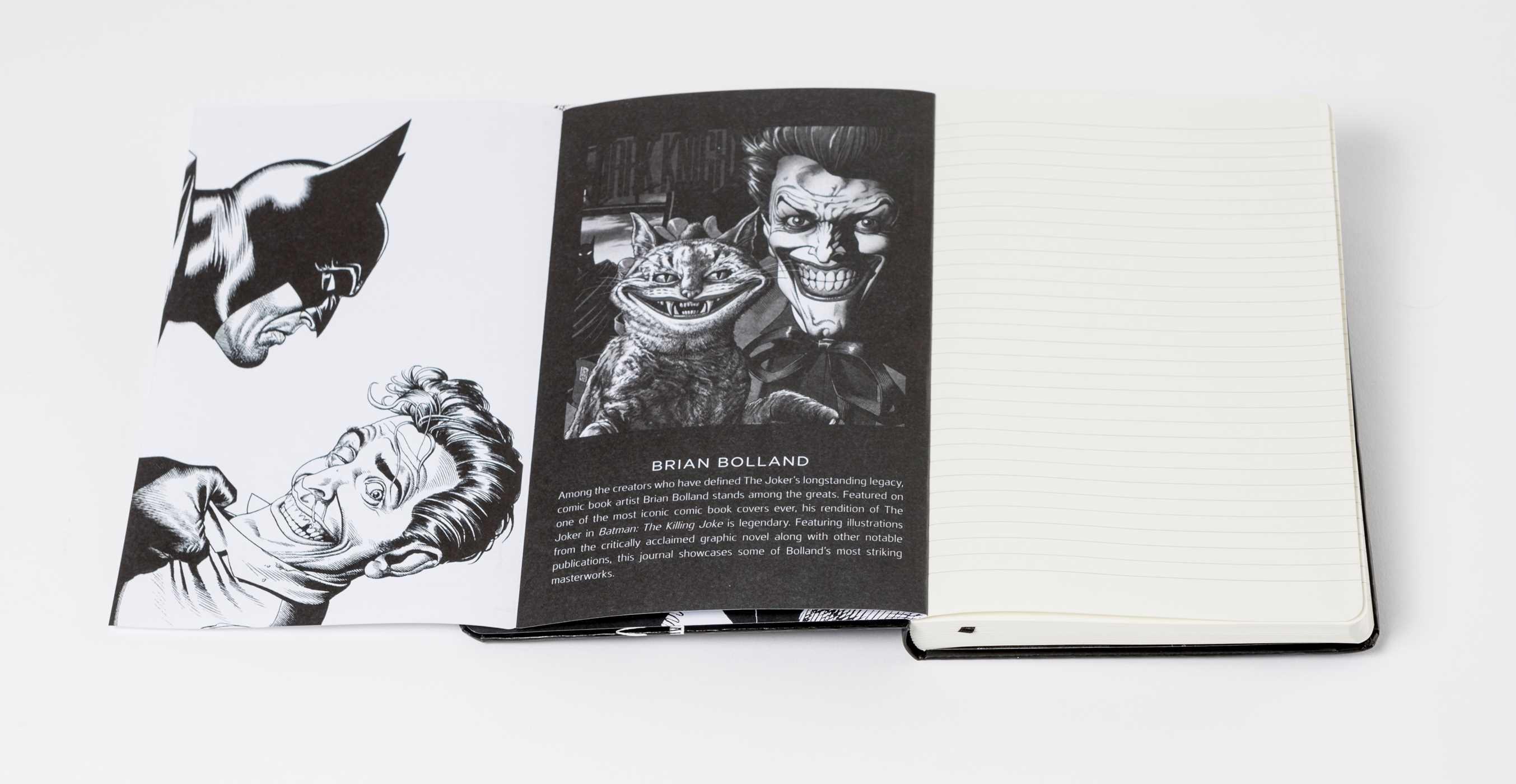 Dc comics the joker hardcover ruled journal artist edition 9781683833307.in07