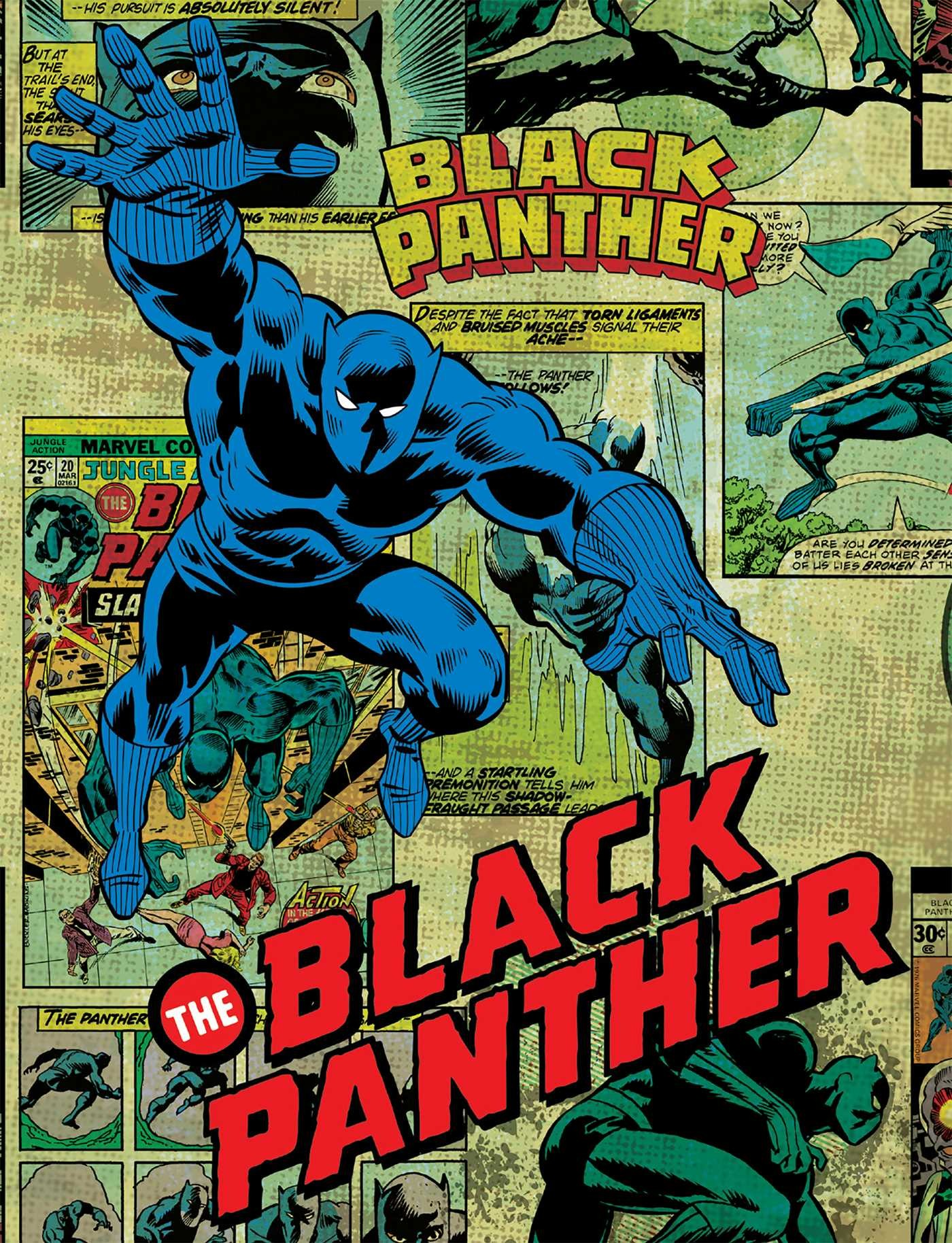 Marvel comics black panther deluxe note card set with keepsake book box 9781683833390.in06