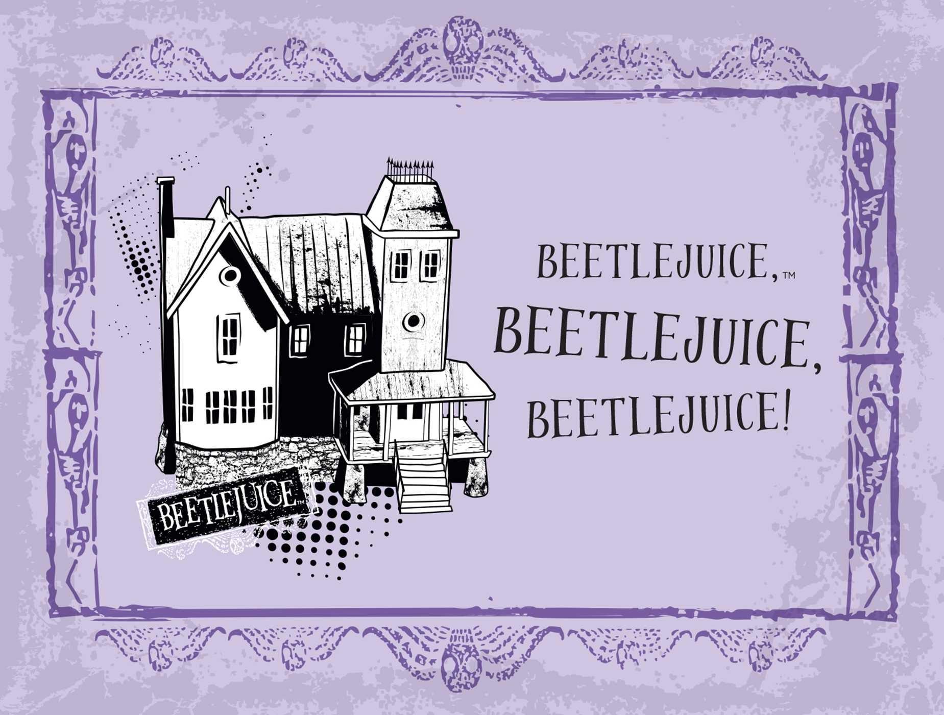 Beetlejuice handbook for the recently deceased deluxe note card set with keepsake book box 9781683833406.in07