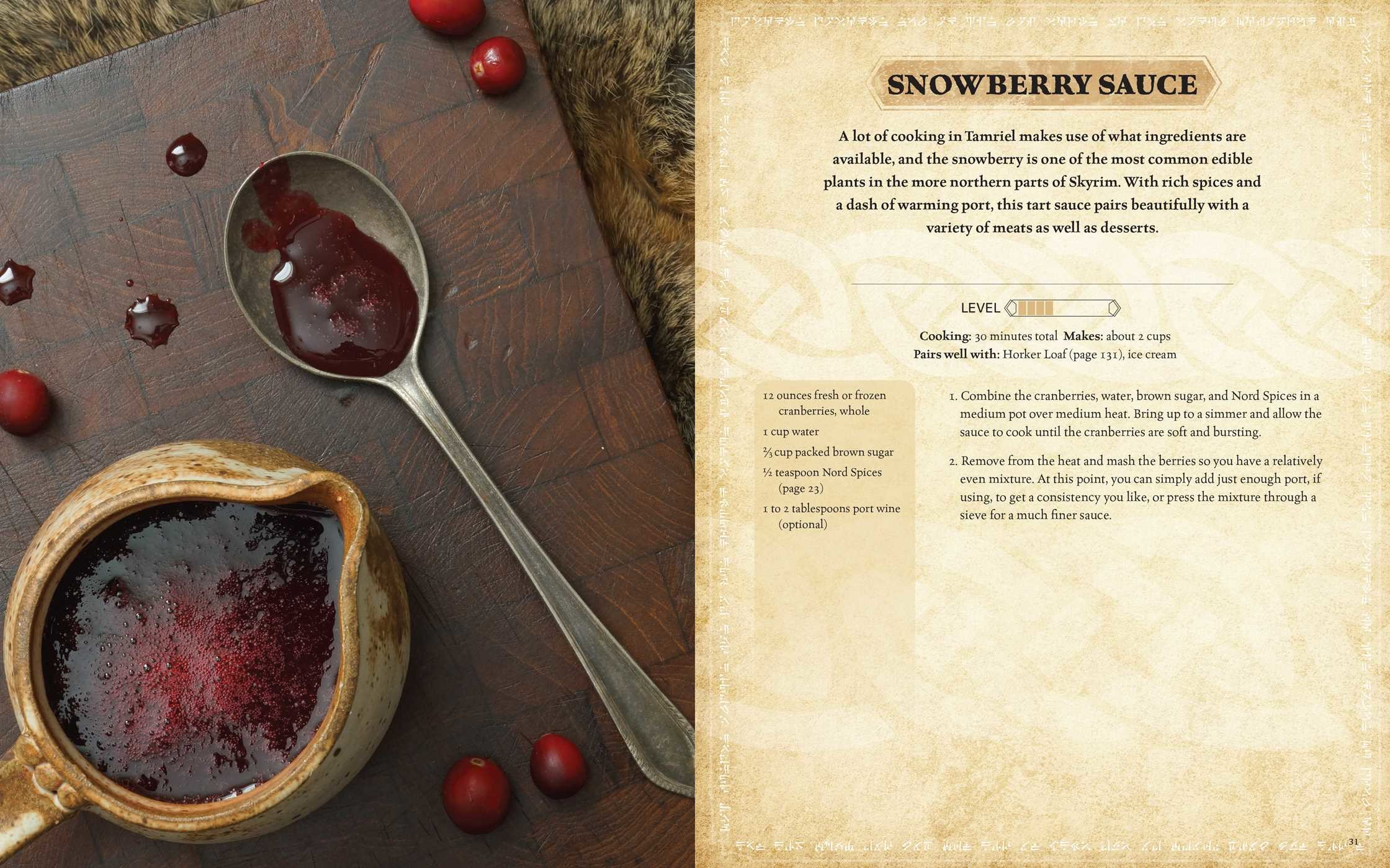 Elder Official  Scrolls: The Chelsea   by Book The Cookbook