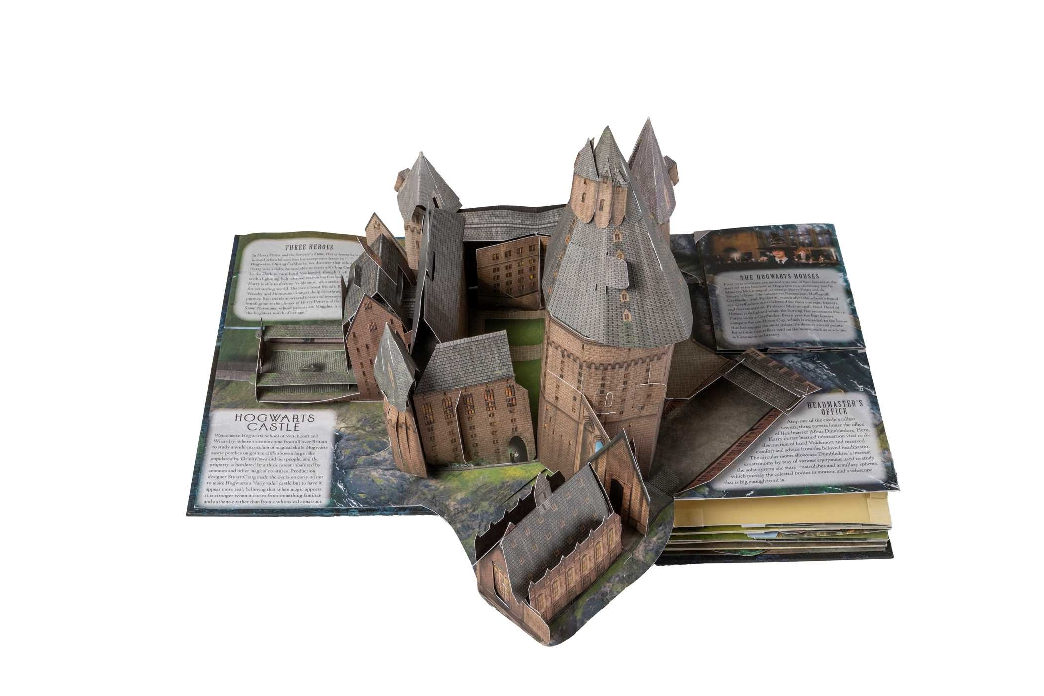 Harry Potter Book Value Guide : Harry potter a pop up guide to hogwarts book by kevin