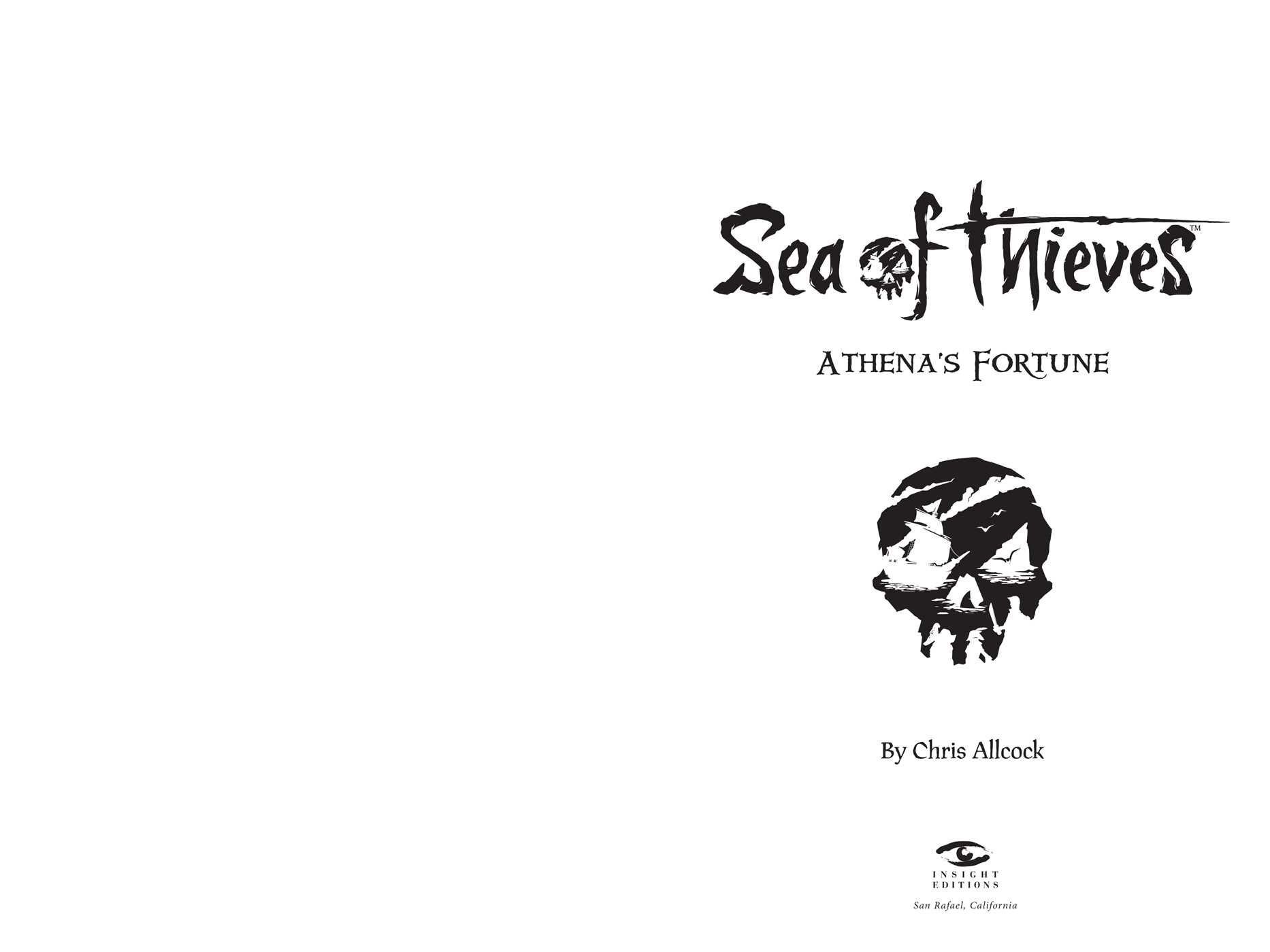 Sea of Thieves: Athena's Fortune | Book by Chris Allcock