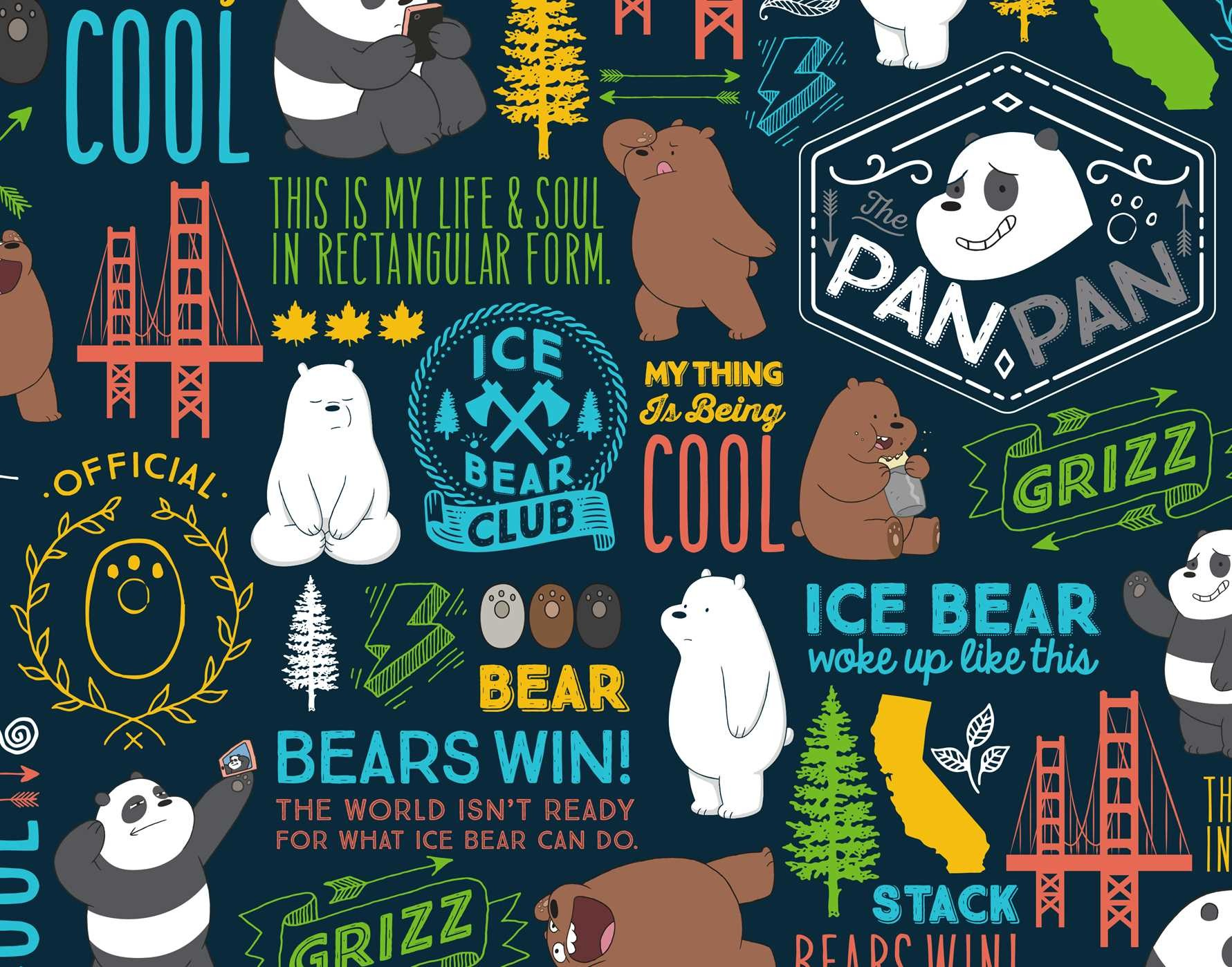 We Bare Bears Hardcover Ruled Journal Book By Insight Editions Official Publisher Page Simon Schuster