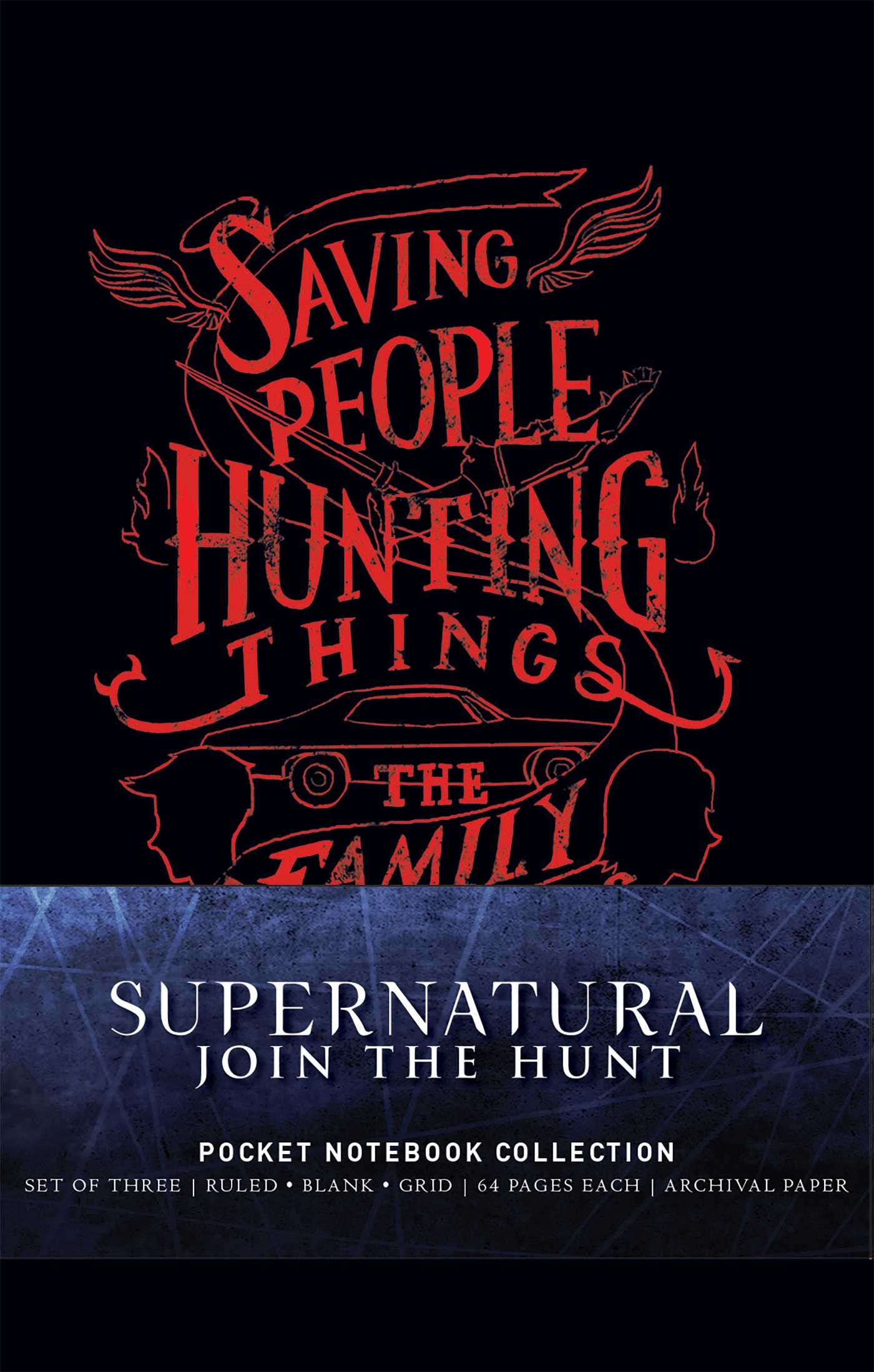 Supernatural pocket notebook collection set of 3 9781683835264.in01