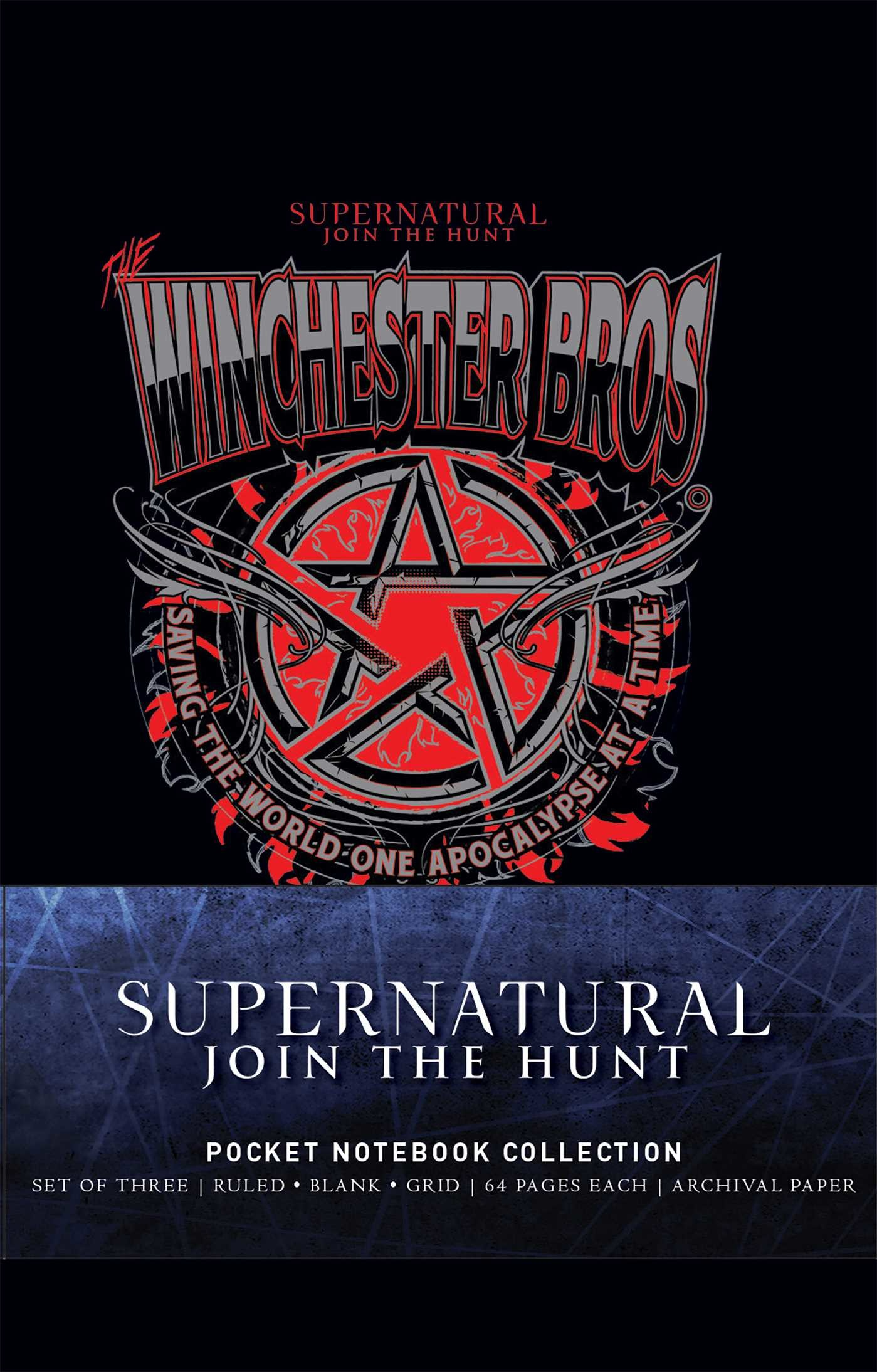 Supernatural pocket notebook collection set of 3 9781683835264.in02