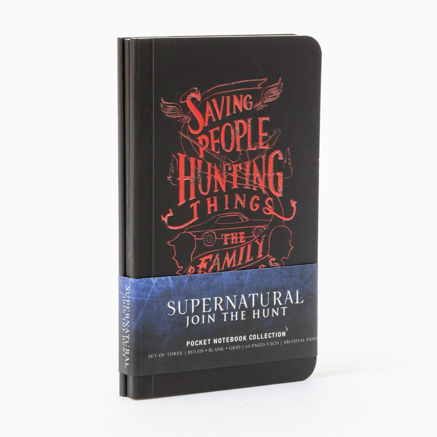 Supernatural pocket notebook collection set of 3 9781683835264.in04