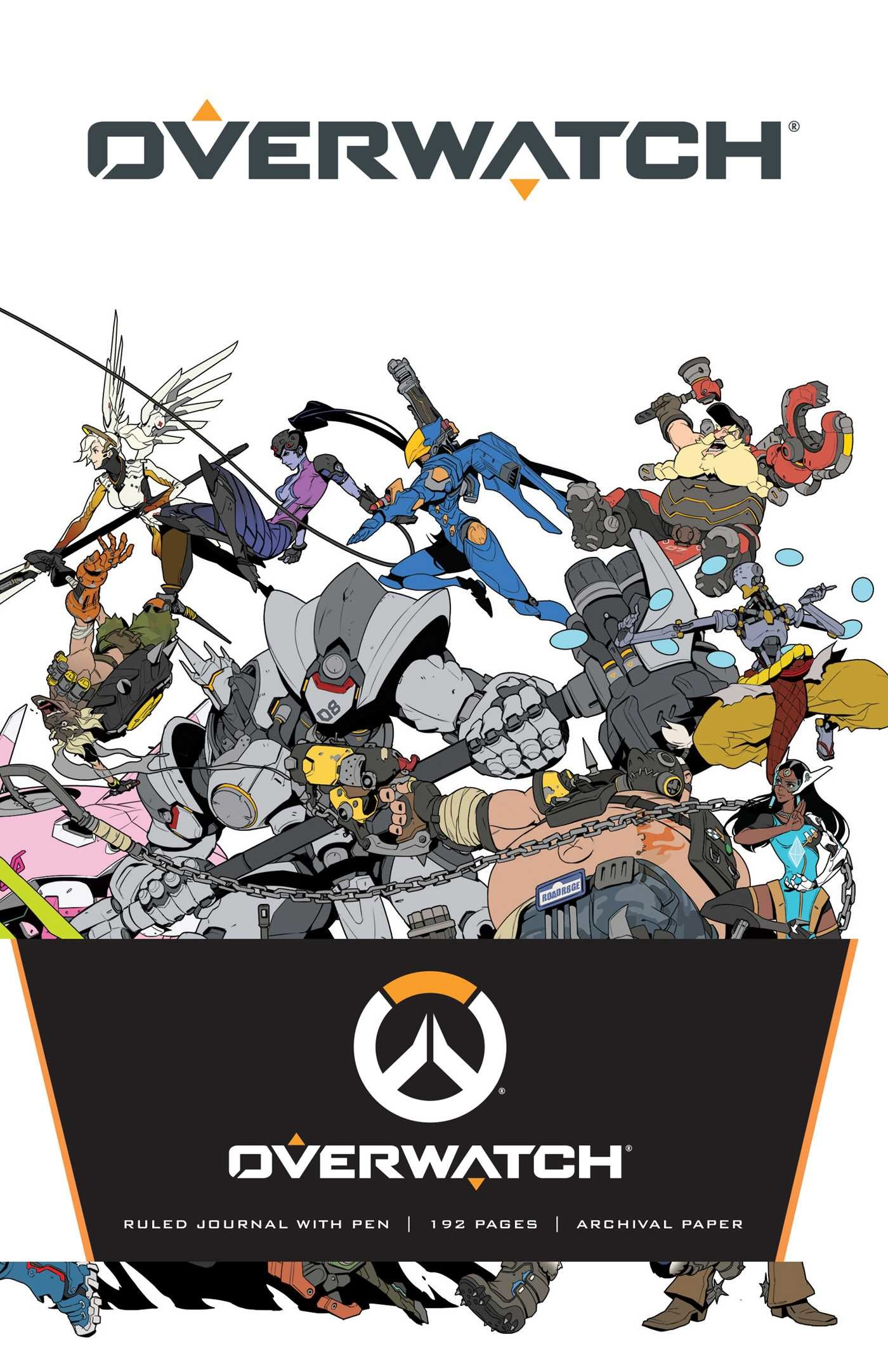 overwatch hardcover ruled journal with pen book by insight