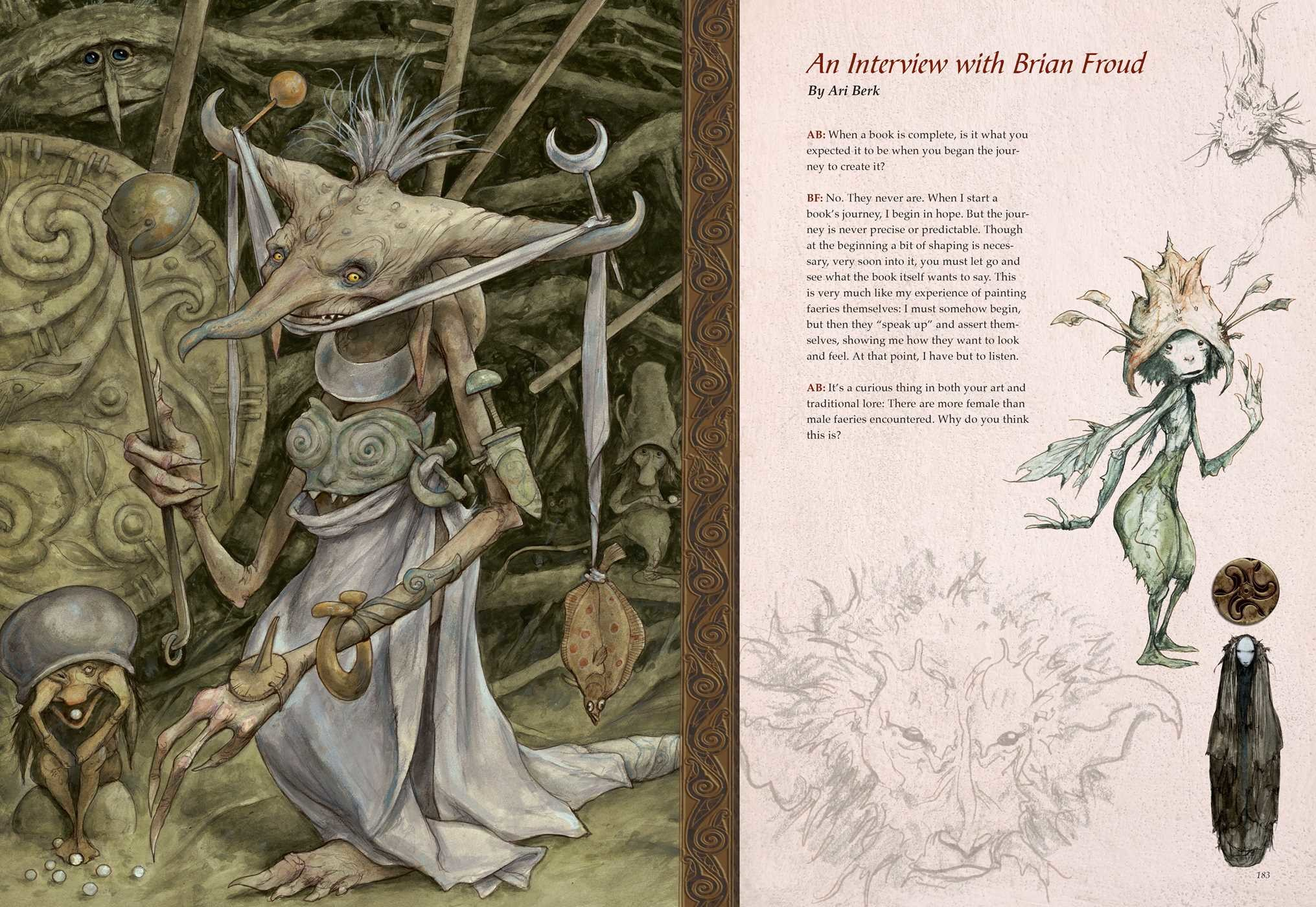 Brian Froud's World of Faerie | Book by Brian Froud