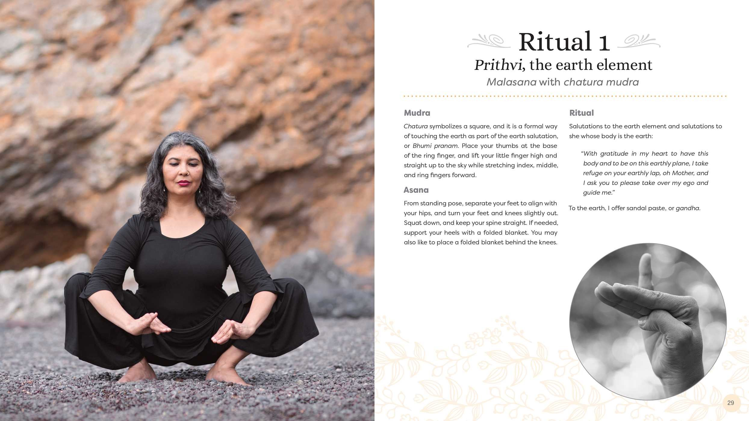Yoga and the Art of Mudras | Book by Nubia Teixeira, Andrea