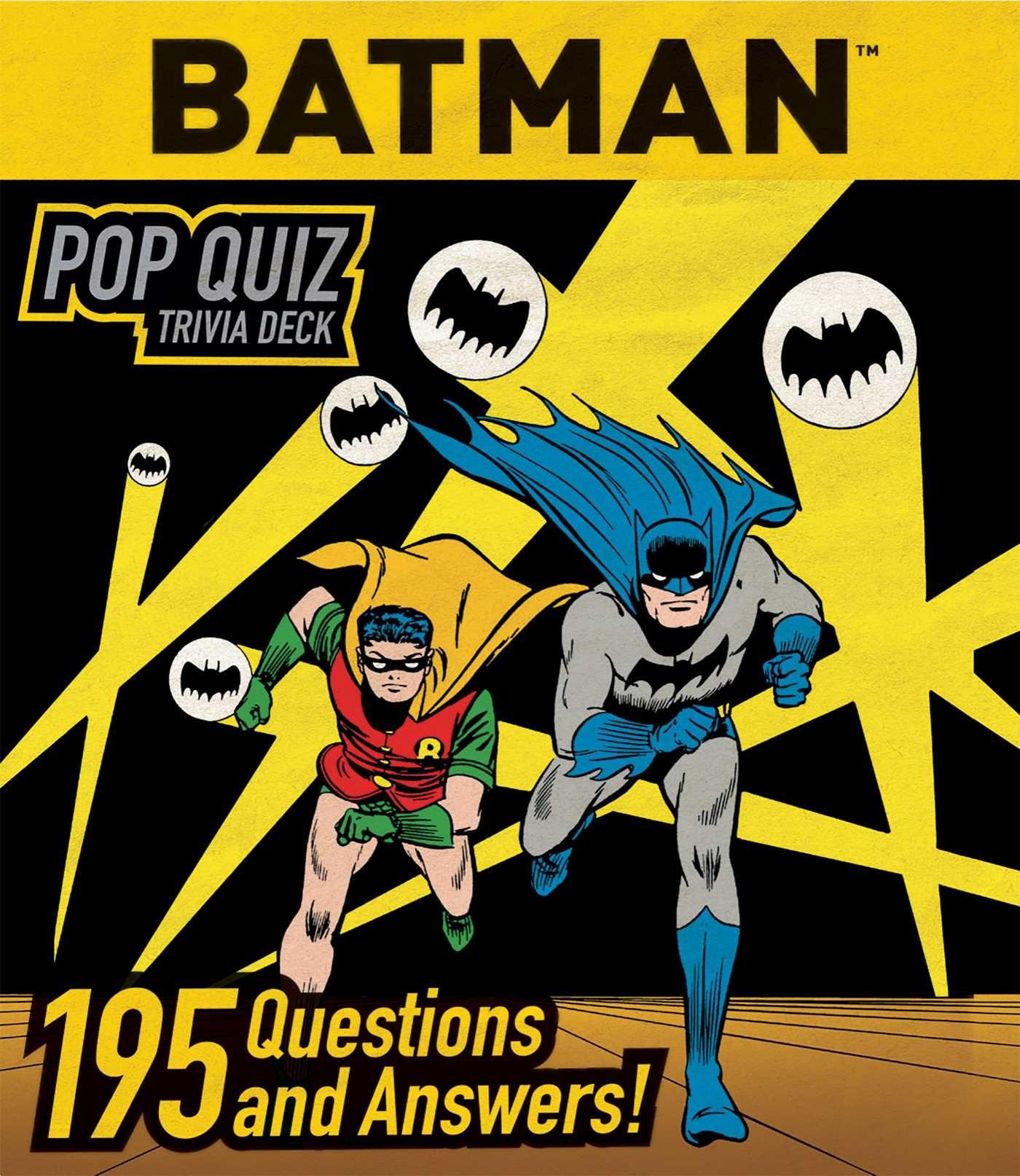 Dc comic book trivia