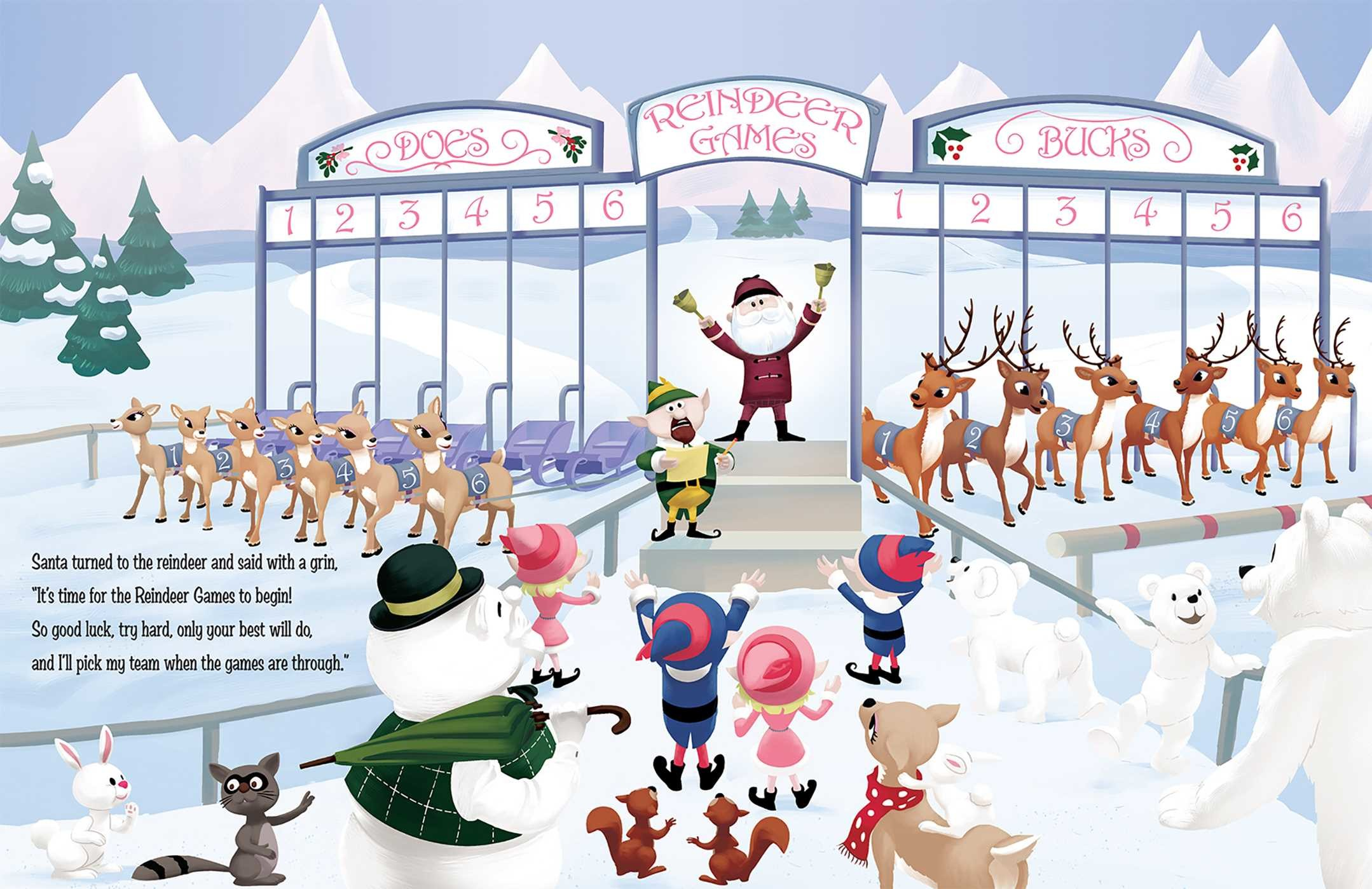 T e a m rudolph and the reindeer games 9781684120789.in01