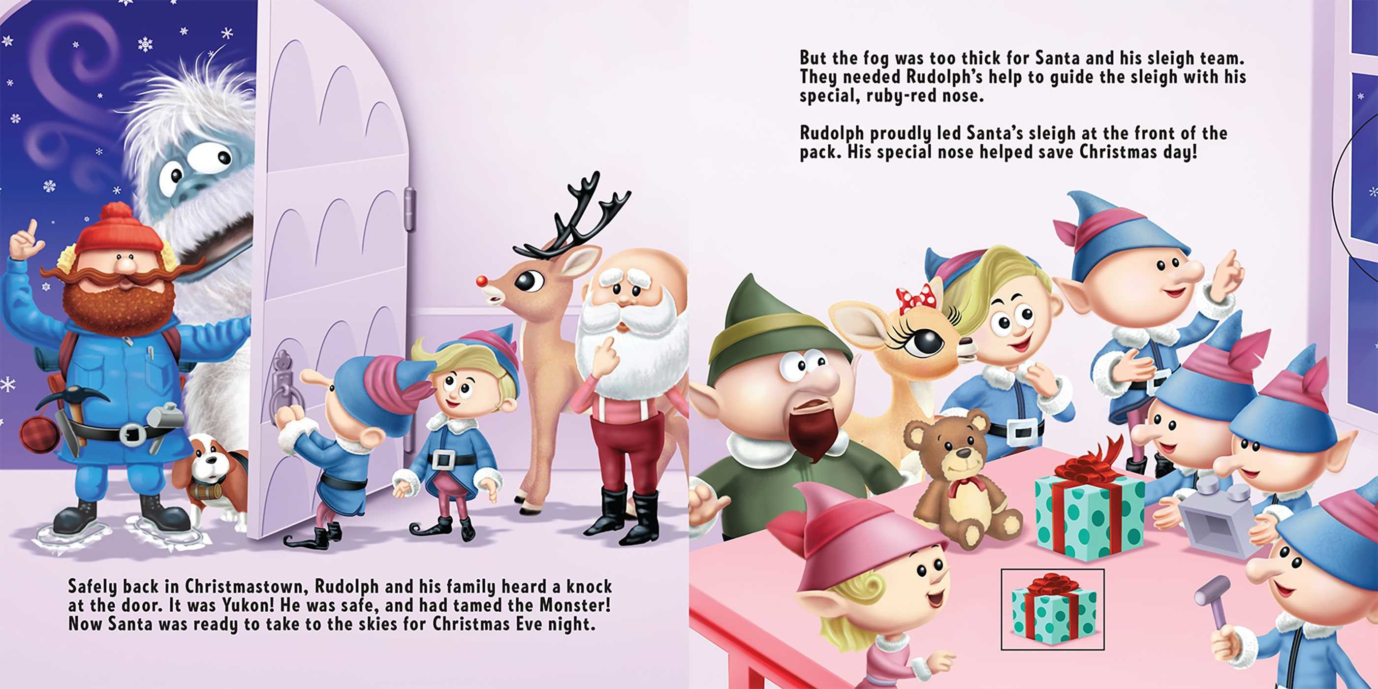 Rudolph The Red Nosed Reindeer Book By Megan Roth Official