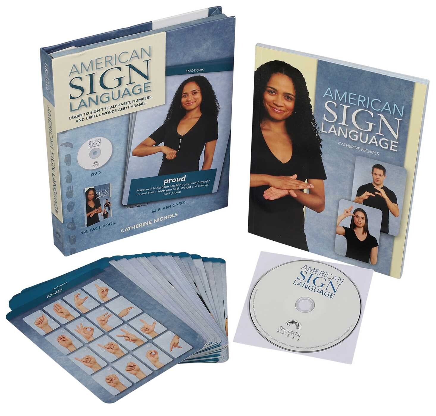 American Sign Language  Book By Catherine Nichols  Official