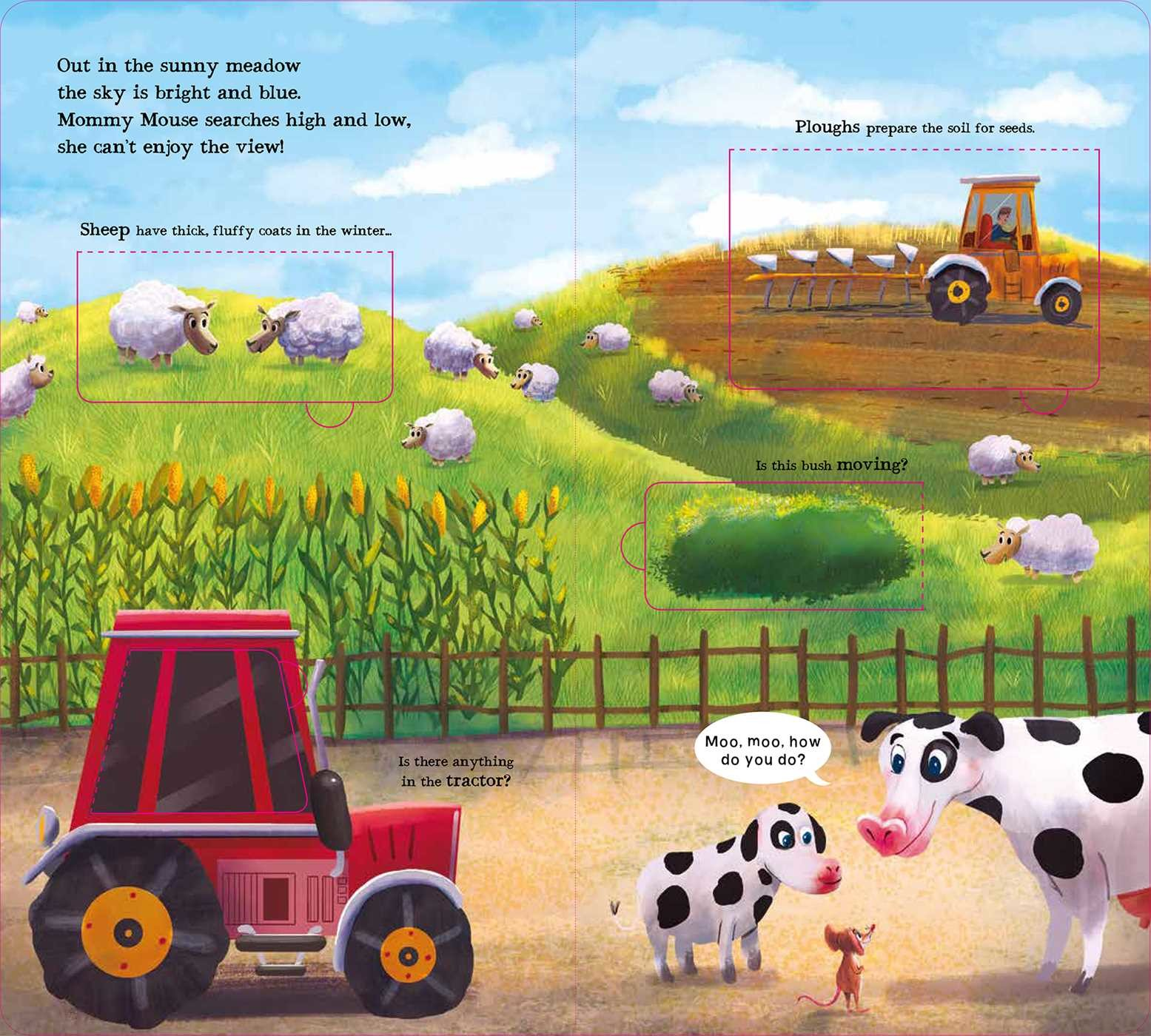 Moo Moo Moo On The Farm Book By Isabel Otter Barry Ross Maxime
