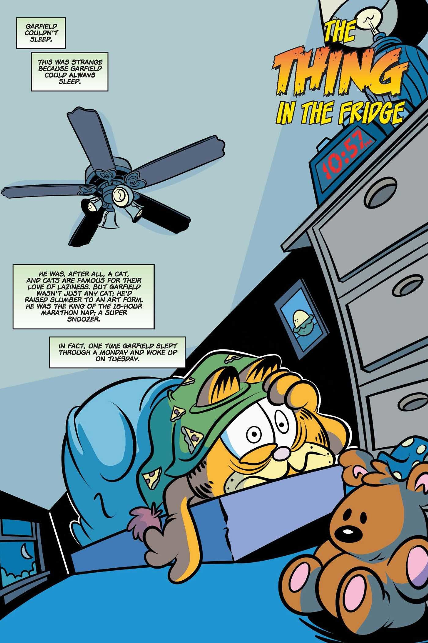 Garfield original graphic novel the thing in the fridge 9781684150199.in01