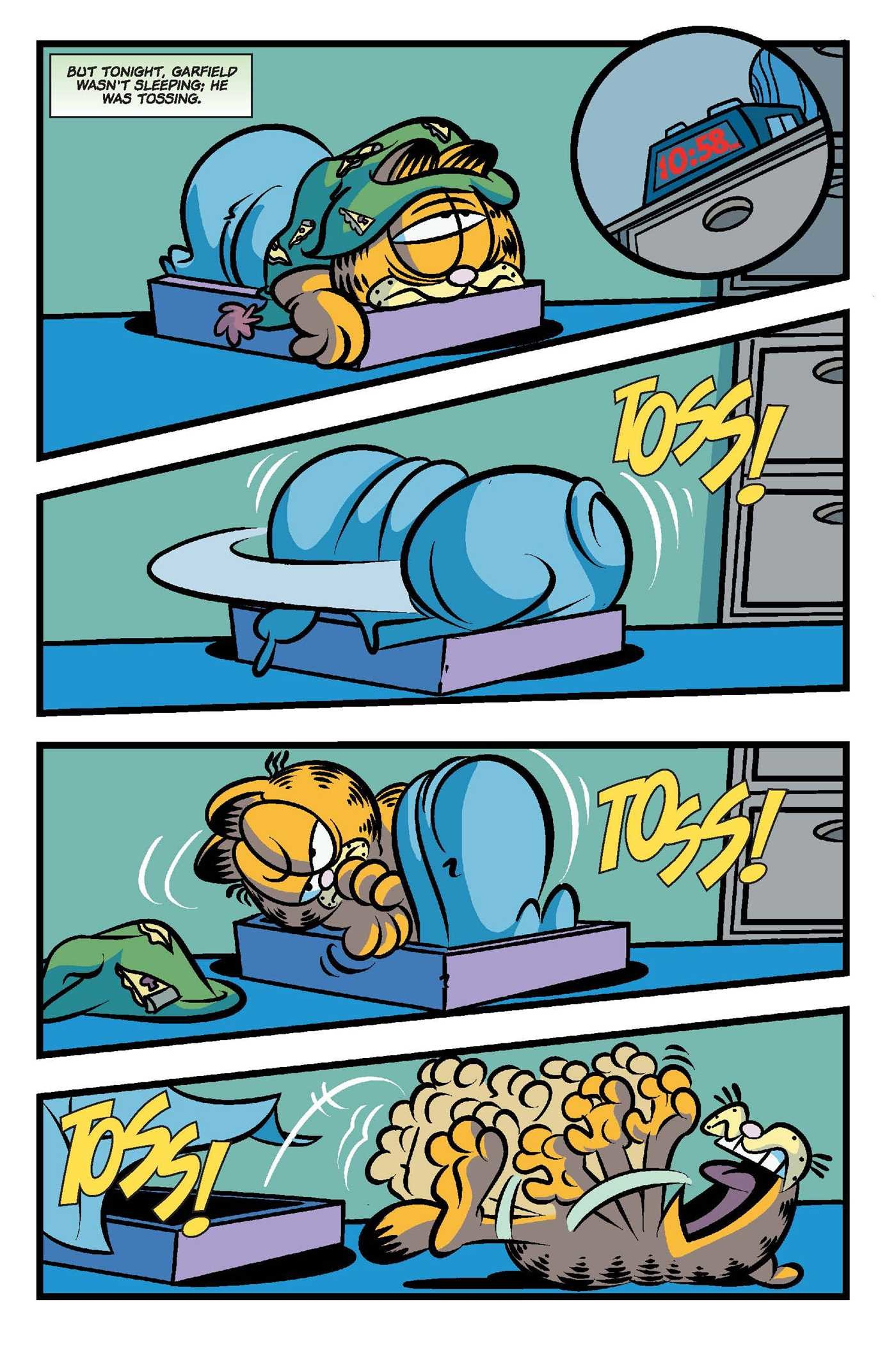 Garfield original graphic novel the thing in the fridge 9781684150199.in02