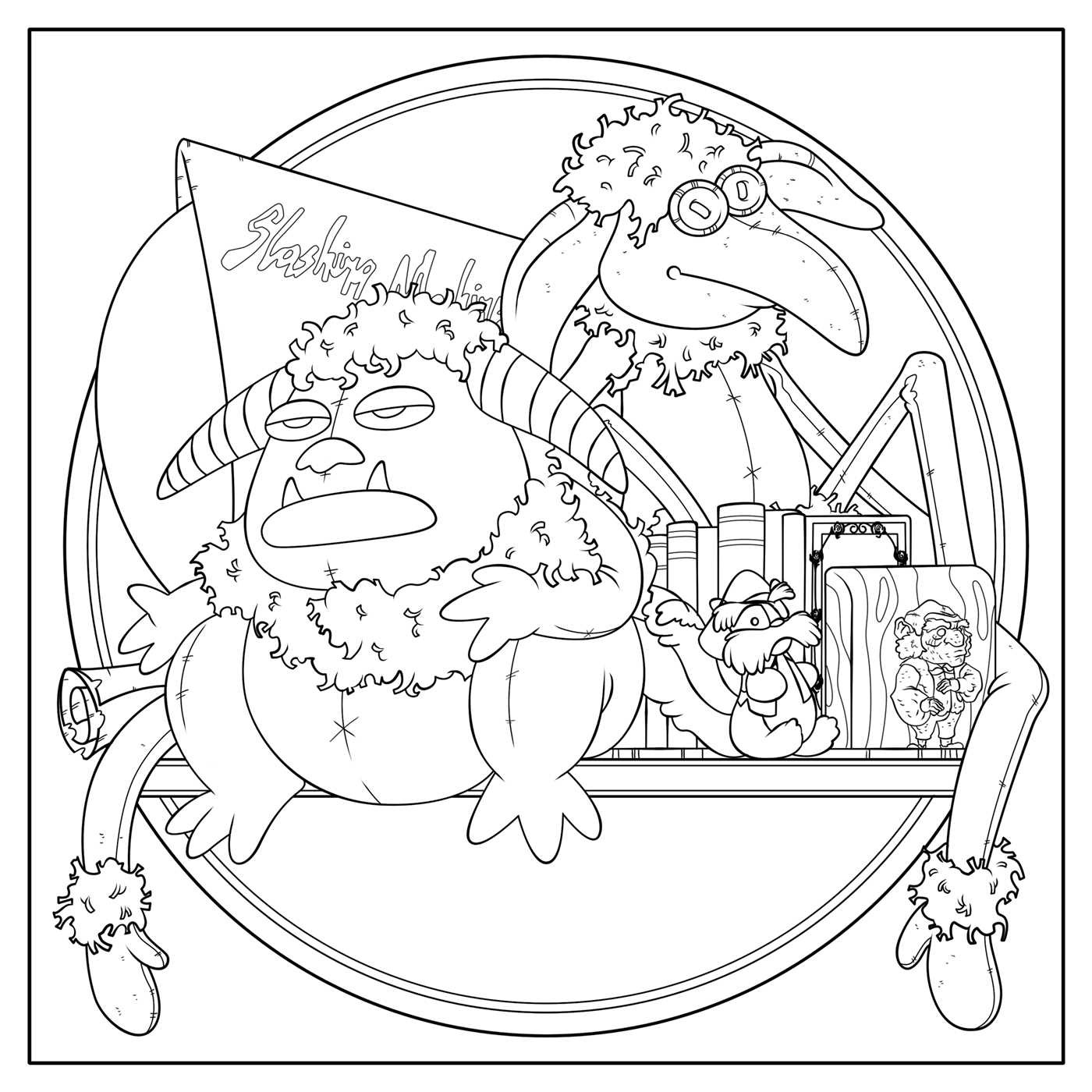 free labrynth coloring pages - photo#11