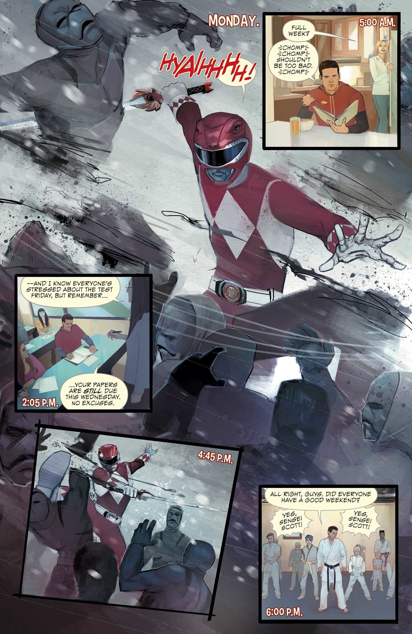 Mighty morphin power rangers lost chronicles 9781684152193.in01