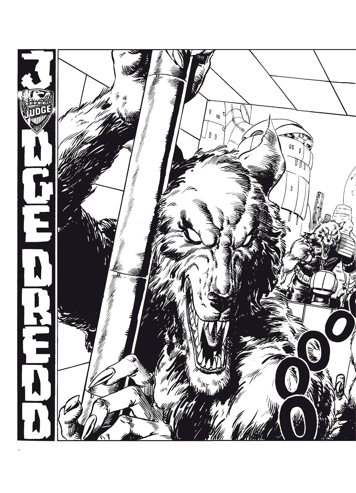 Judge dredd cry of the werewolf 9781781080320.in01
