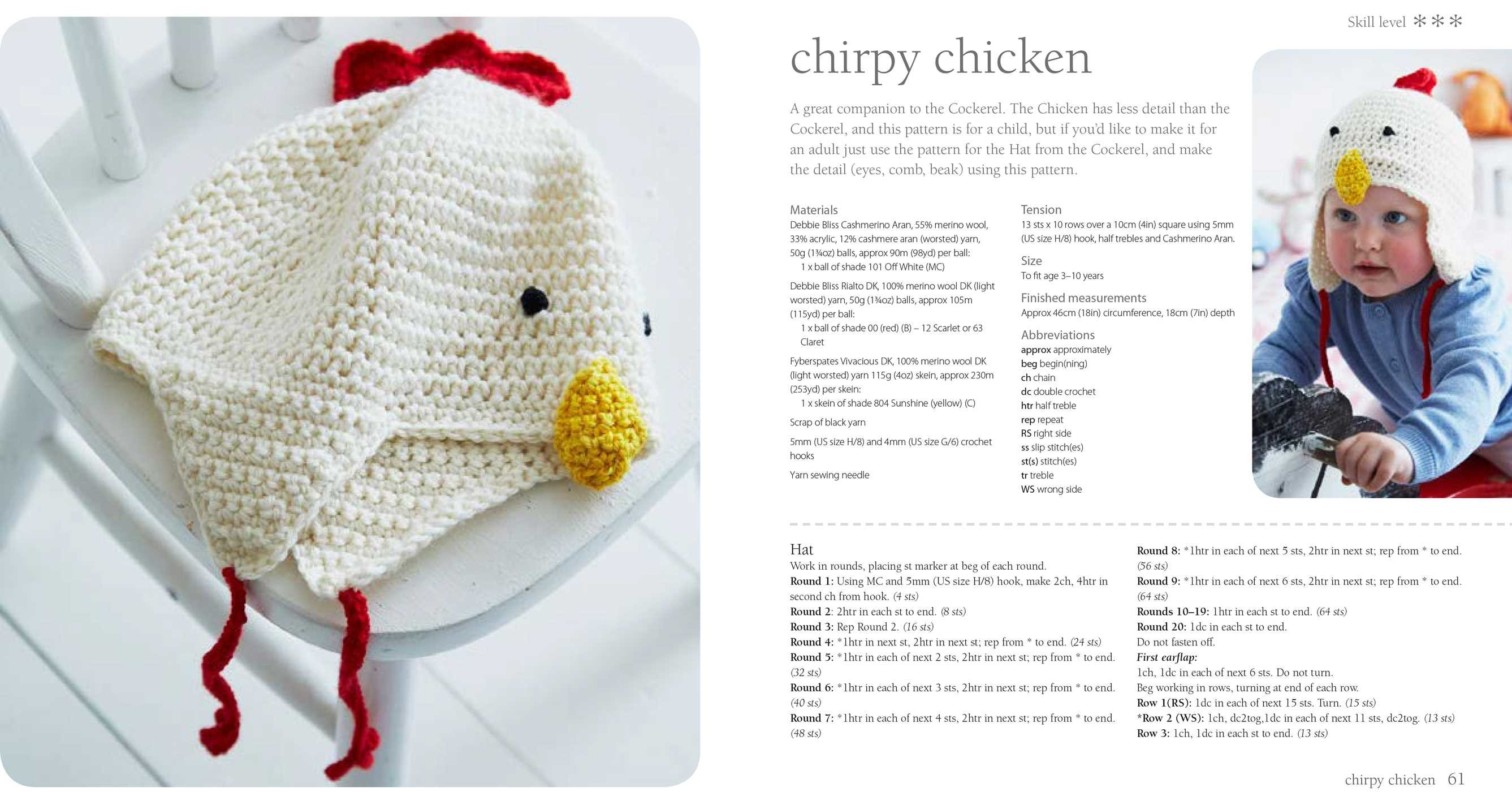 Crocheted Animal Hats | Book by Nicki Trench | Official