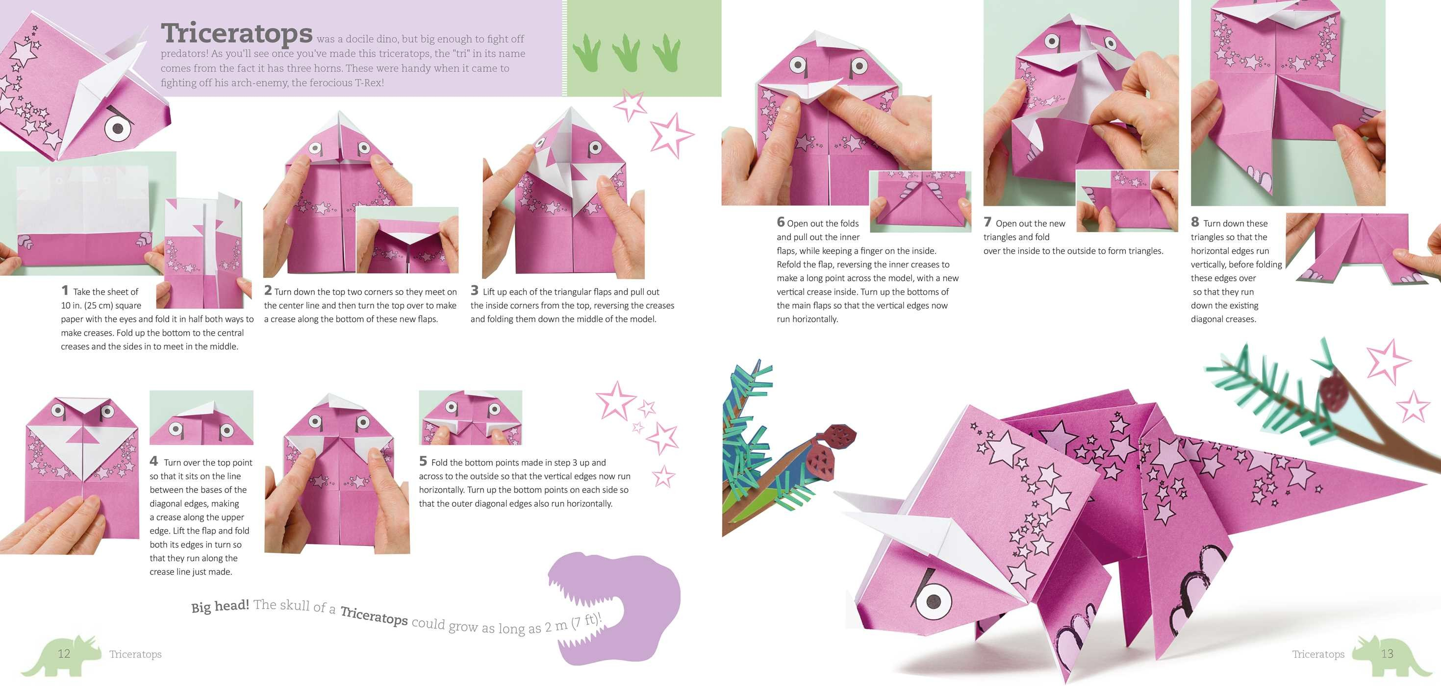 Fun Origami for Children: Dino! | Book by Mari Ono ... - photo#29