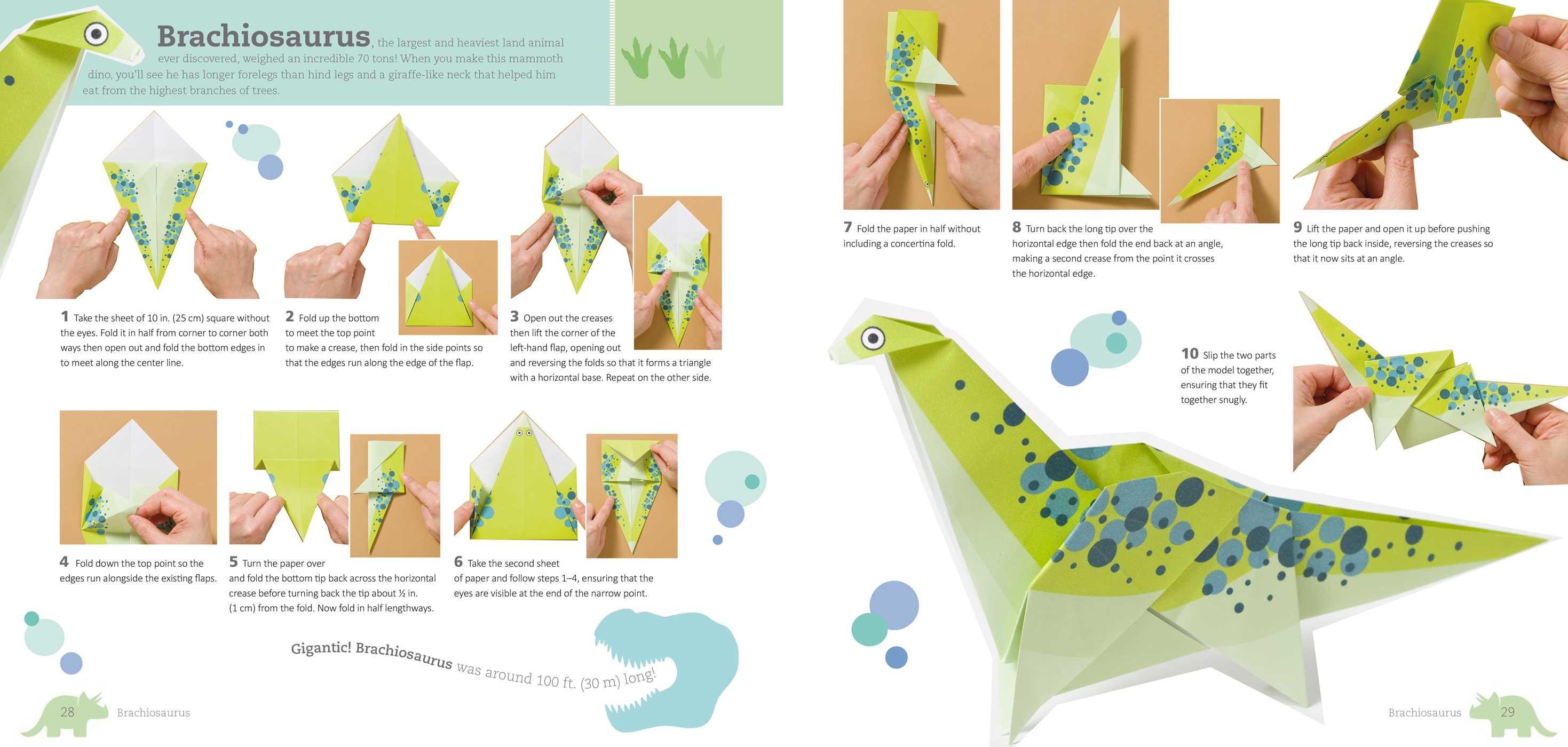 Fun Origami for Children: Dino! | Book by Mari Ono ... - photo#45