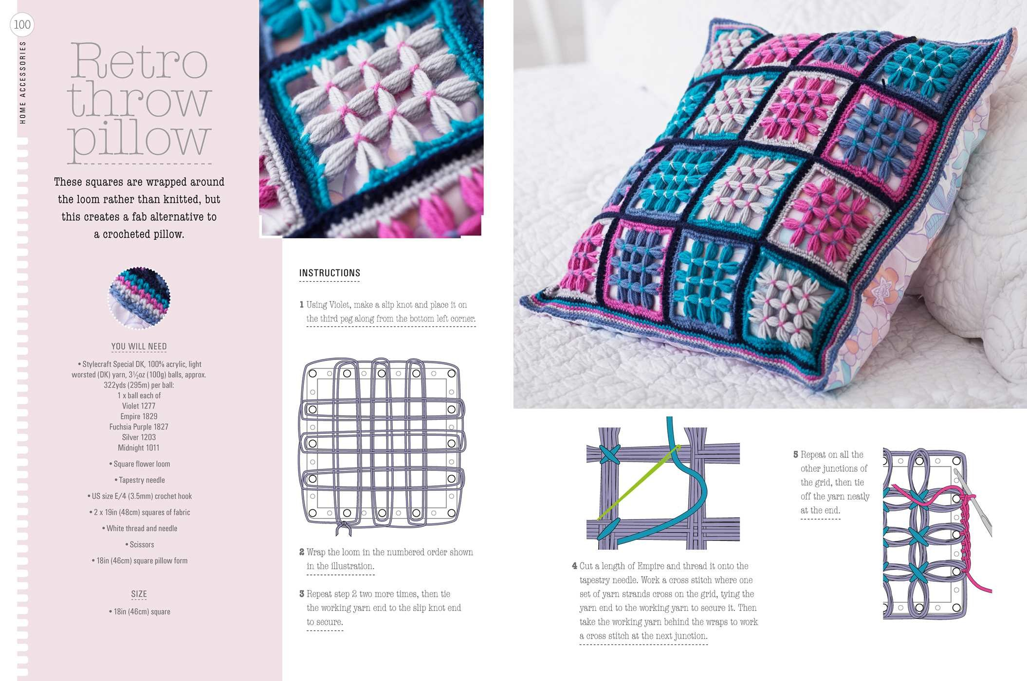 Loom Knitting Book By Lucy Hopping Official Publisher Page