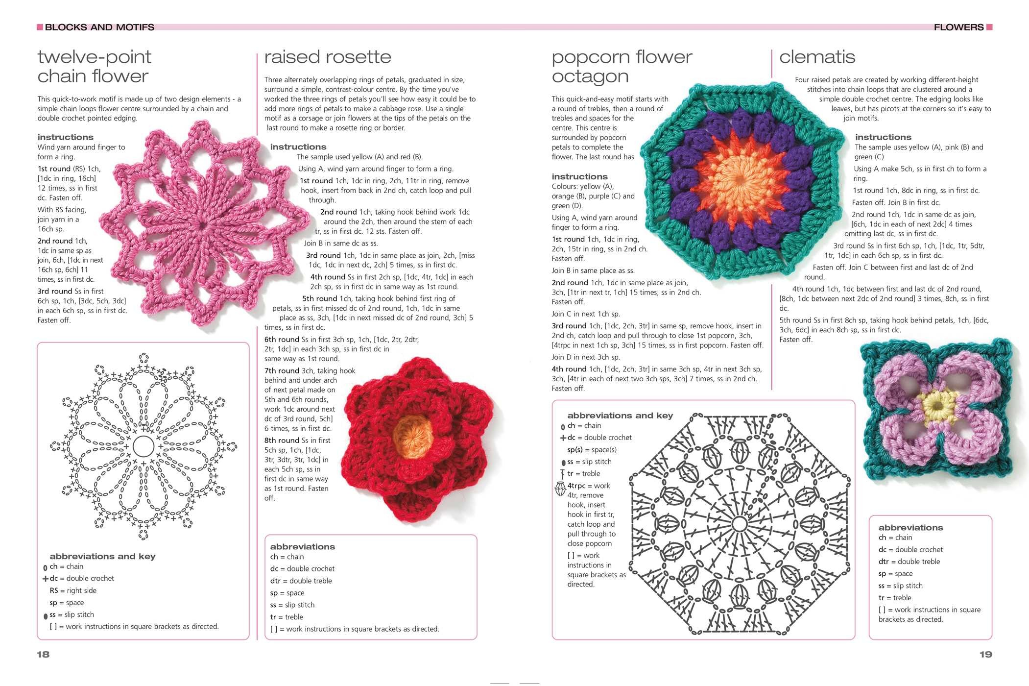 201 Crochet Motifs Blocks Projects And Ideas Book By Melody