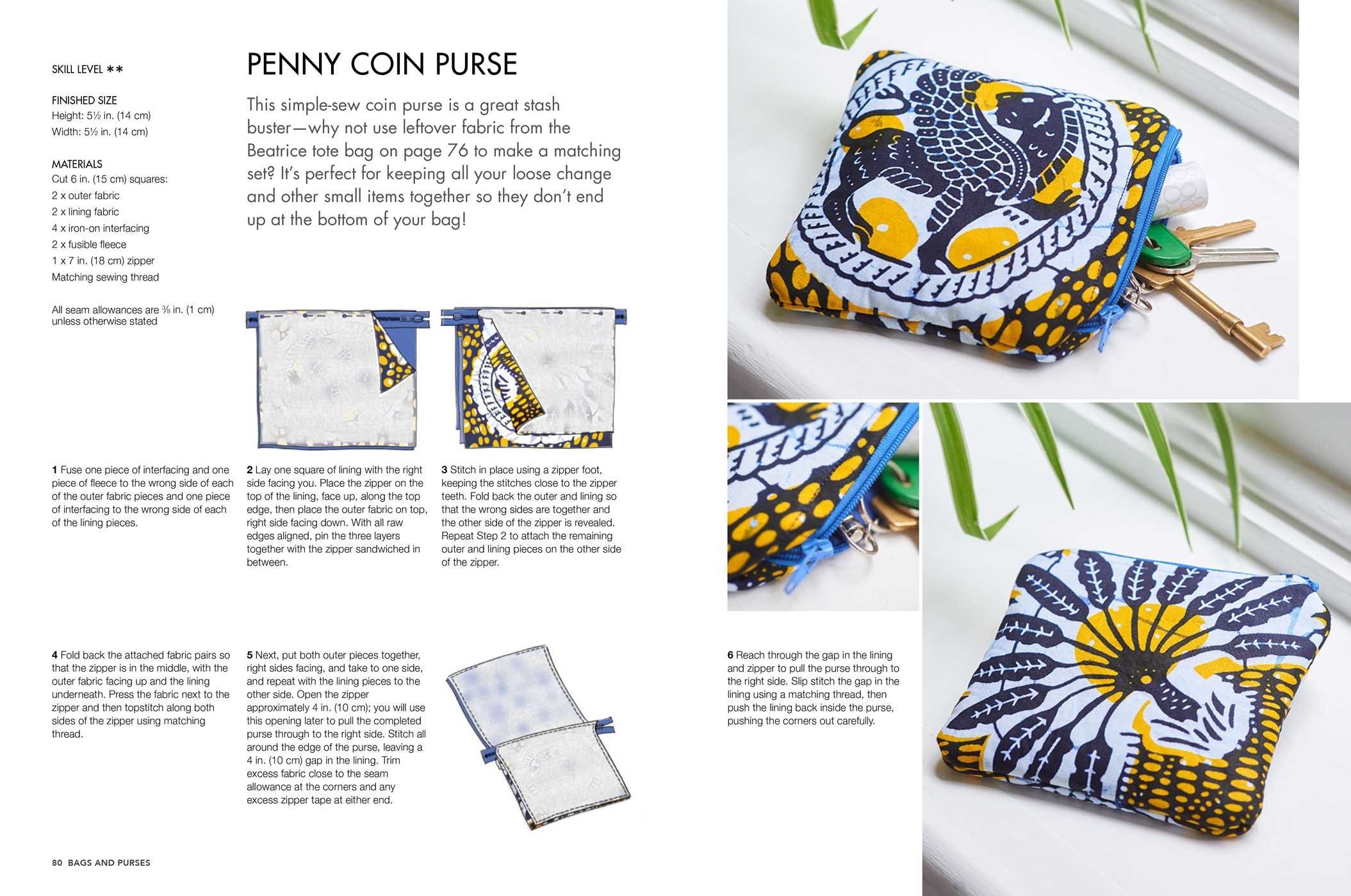 Sewing With African Wax Print Fabric Book By Adaku Parker