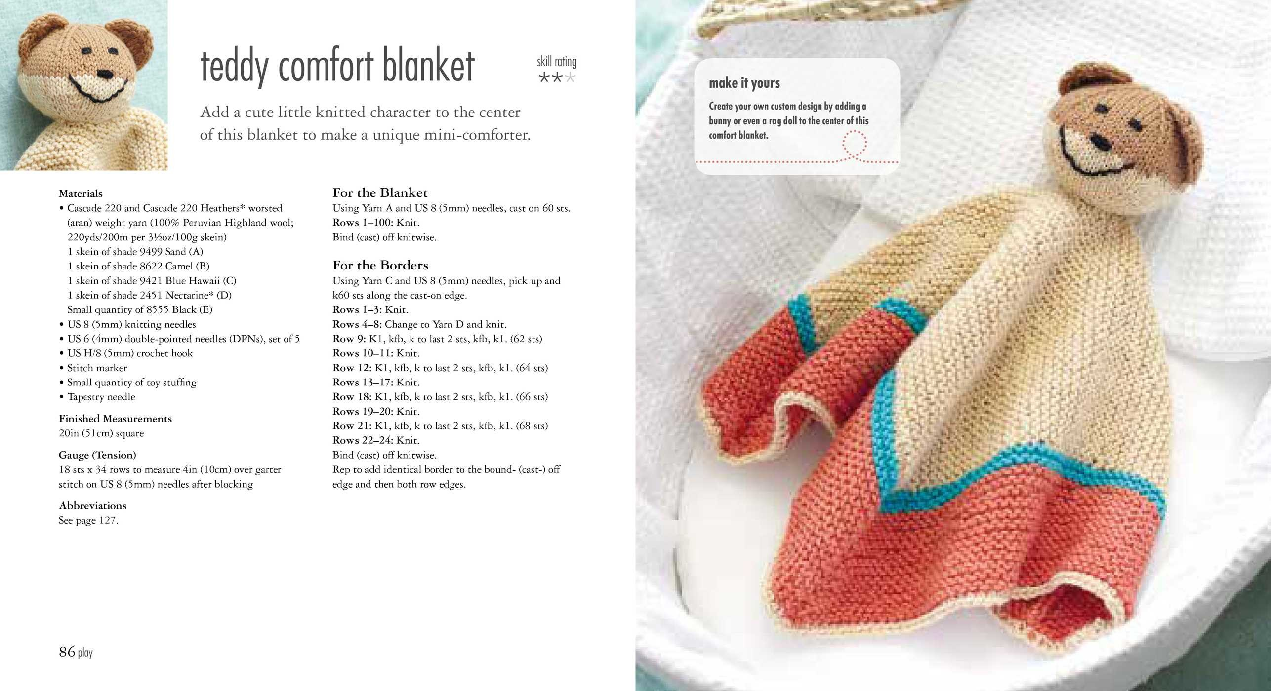 35 Knitted Baby Blankets Book By Laura Strutt Official