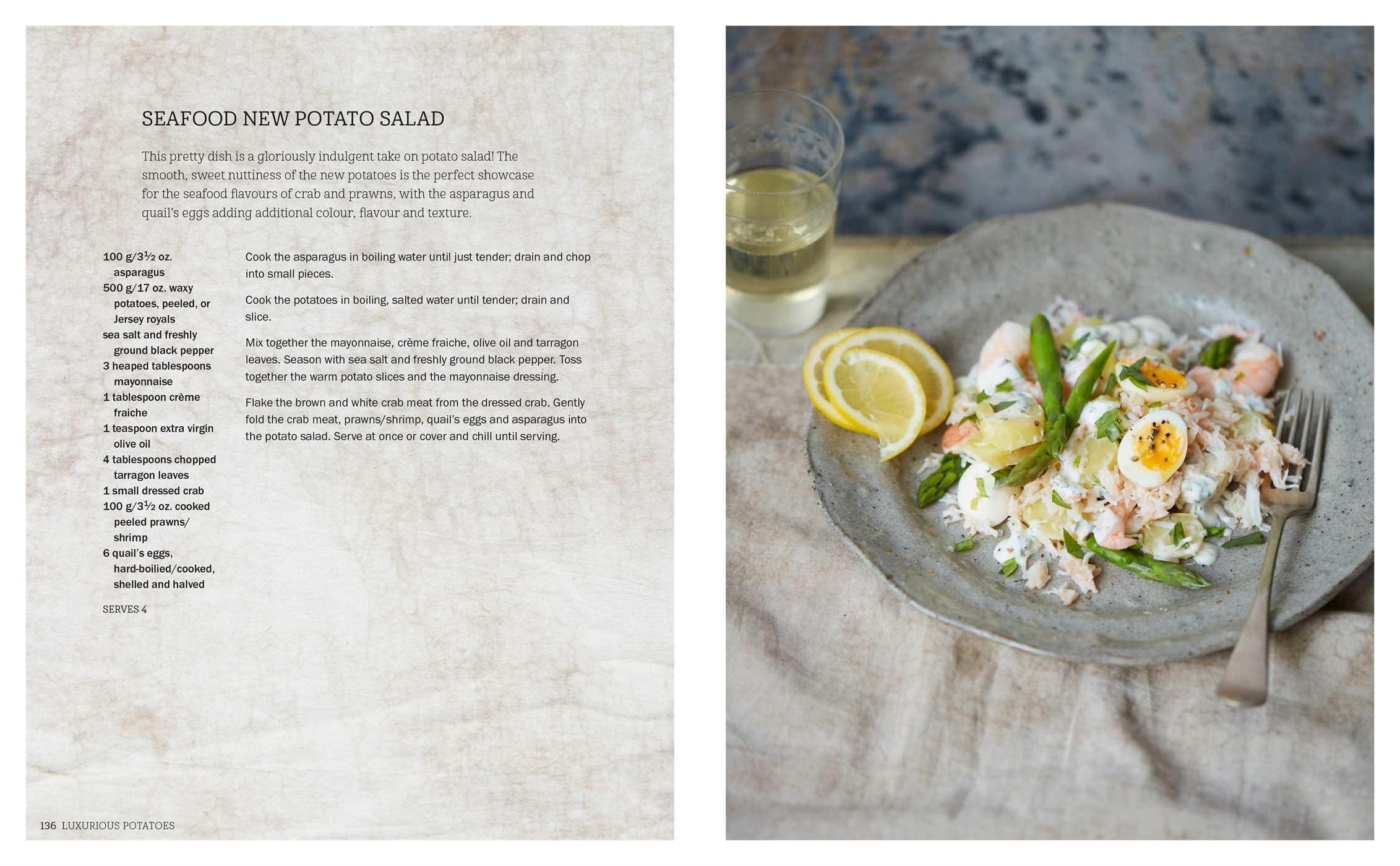 Image result for jenny linford seafood new potato salad