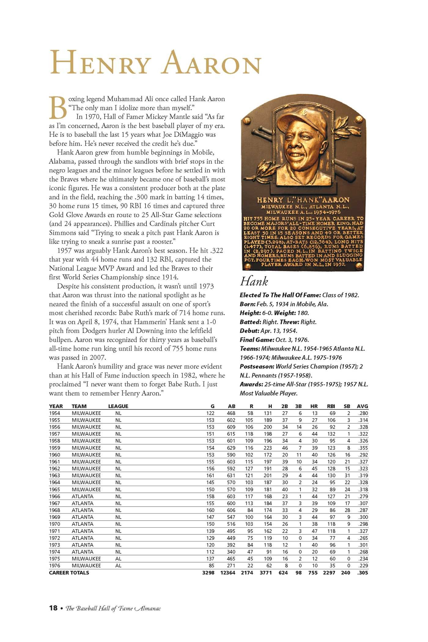 2016 national baseball hall of fame almanac | book by baseball