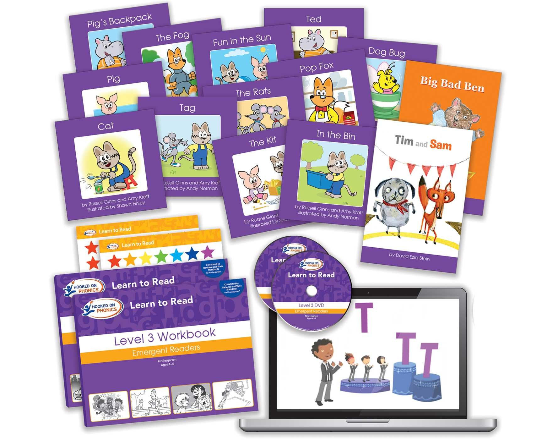 Hooked On Phonics Learn To Read Levels 34 Complete Book By