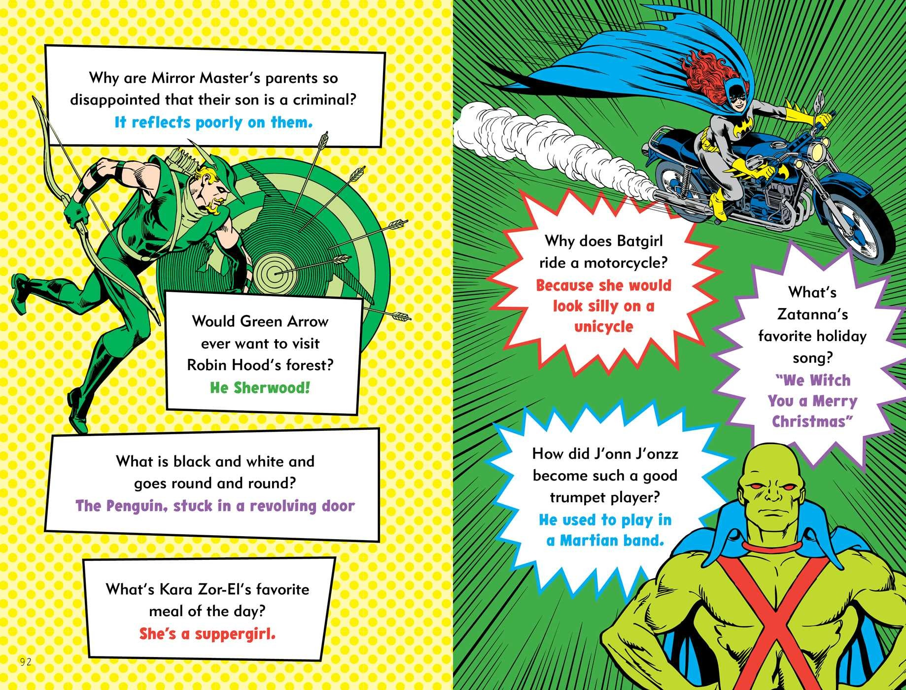 0f6d08feaa5f1f The Official DC Super Hero Joke Book