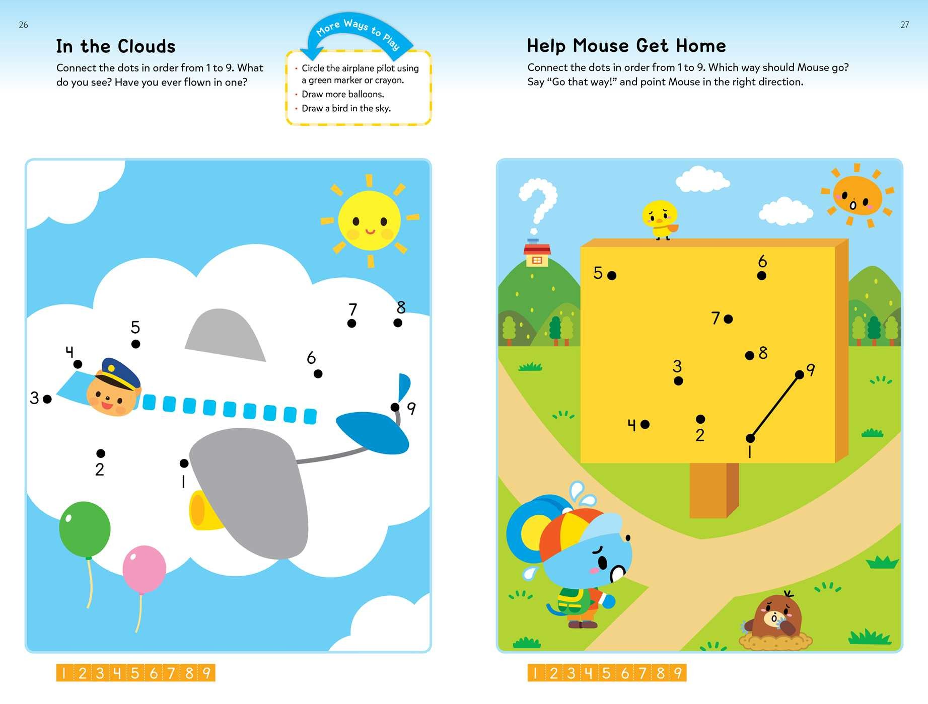 Play Smart Dot To Dot Ages 2 4 Book By Gakken Early Childhood