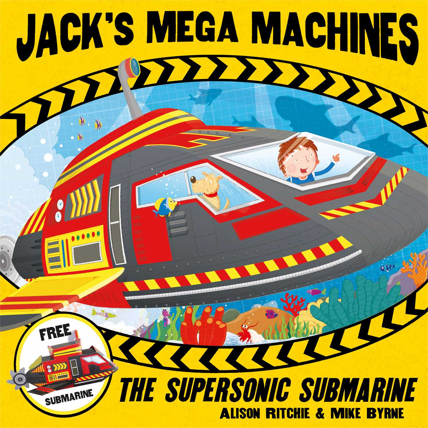 Jacks mega machines supersonic submarine 9780857075697 hr