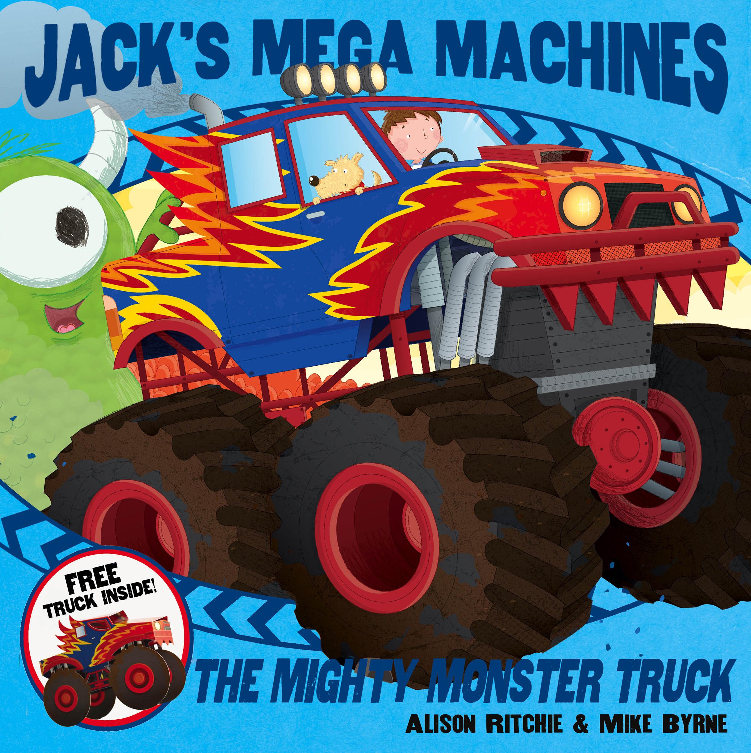 Jacks mega machines mighty monster truck 9780857075703 hr