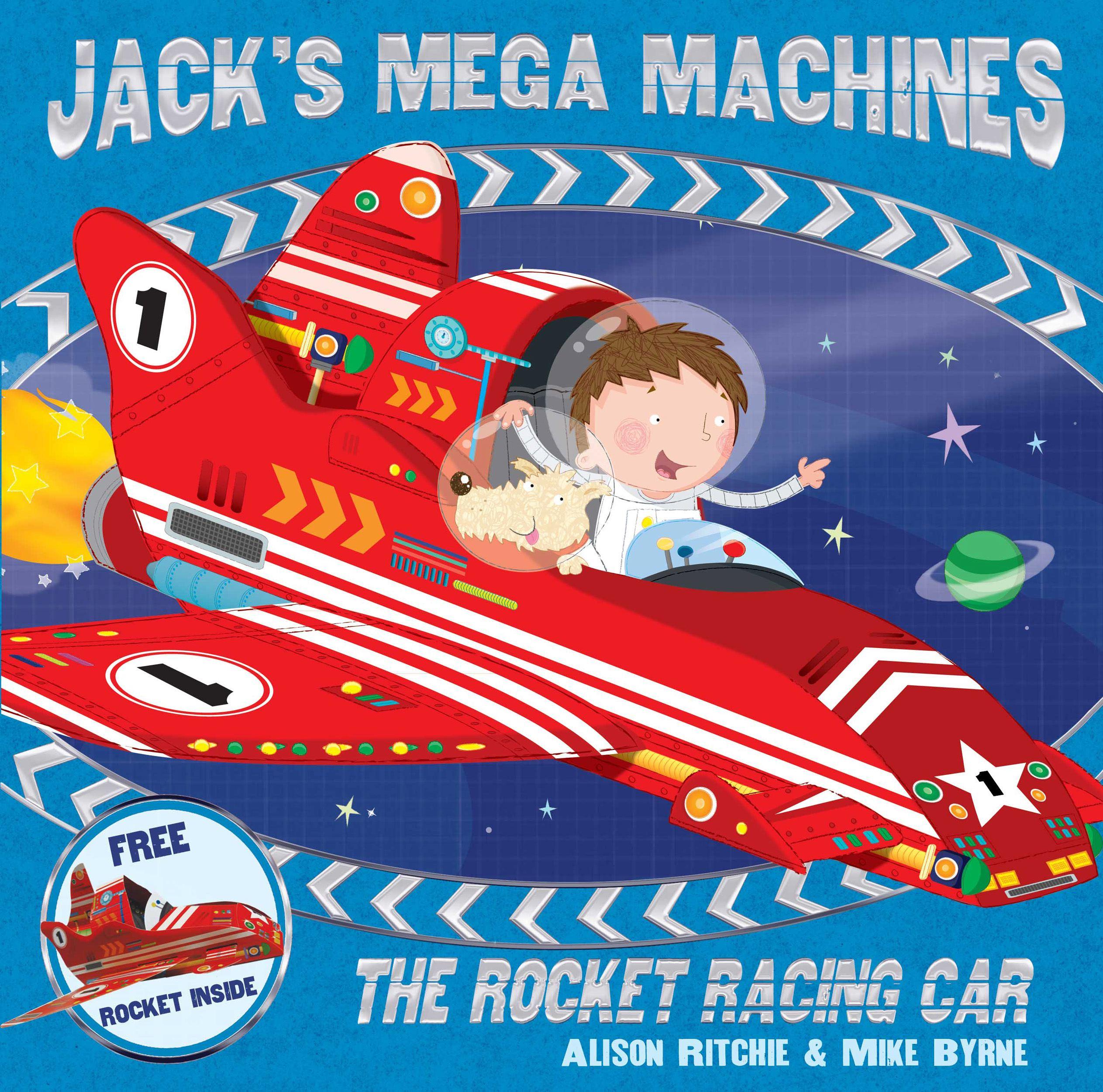 Jacks mega machines the rocket racing car 9780857078896 hr