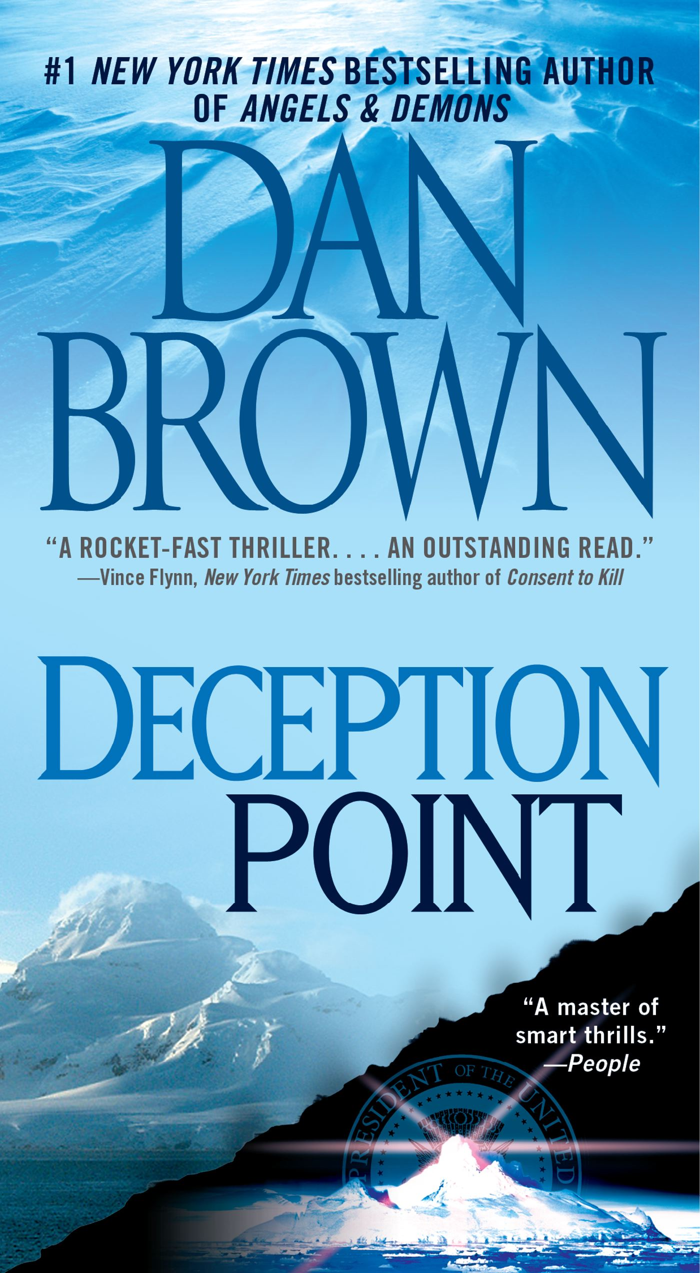 Image result for deception point book