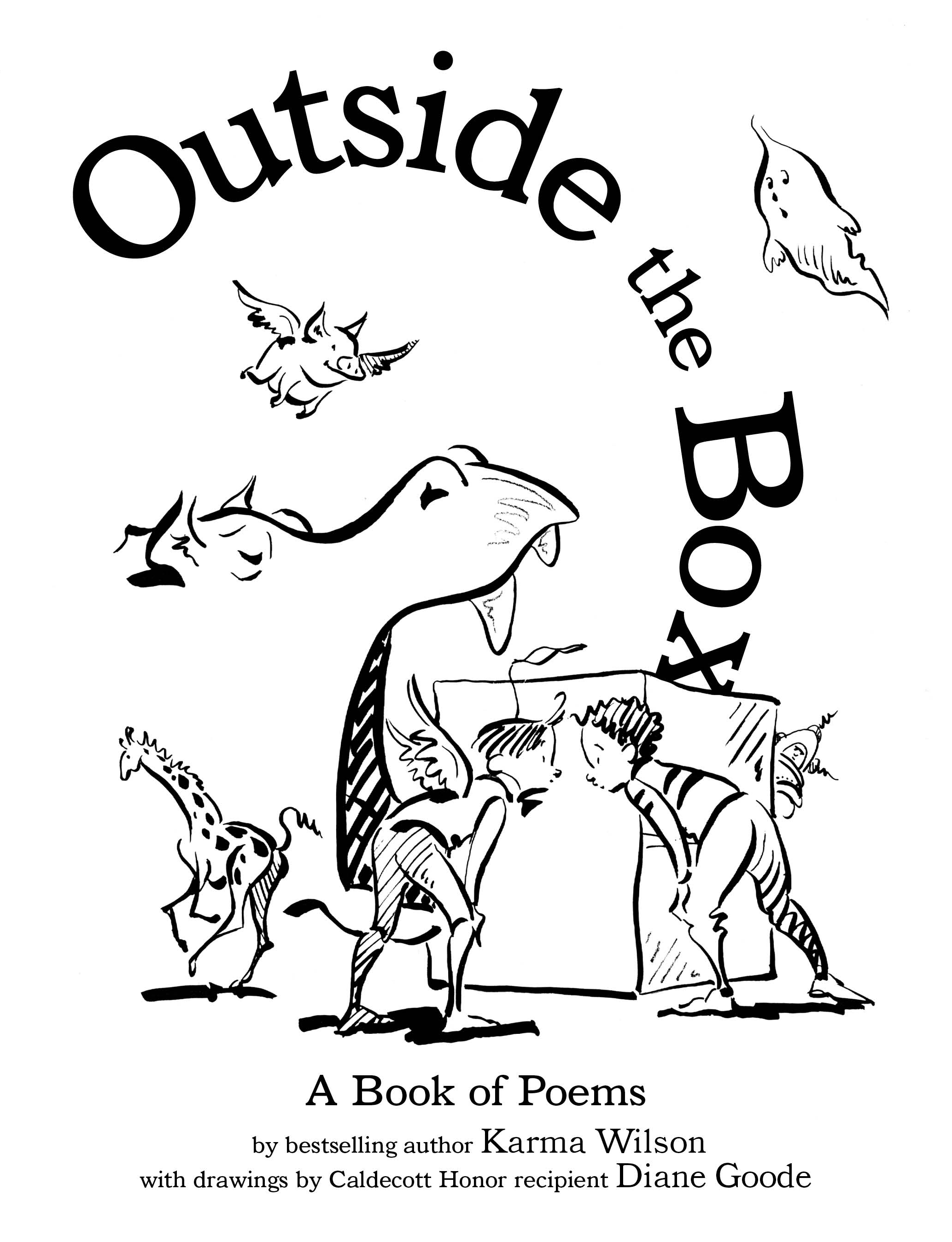 Outside the box 9781416980056 hr