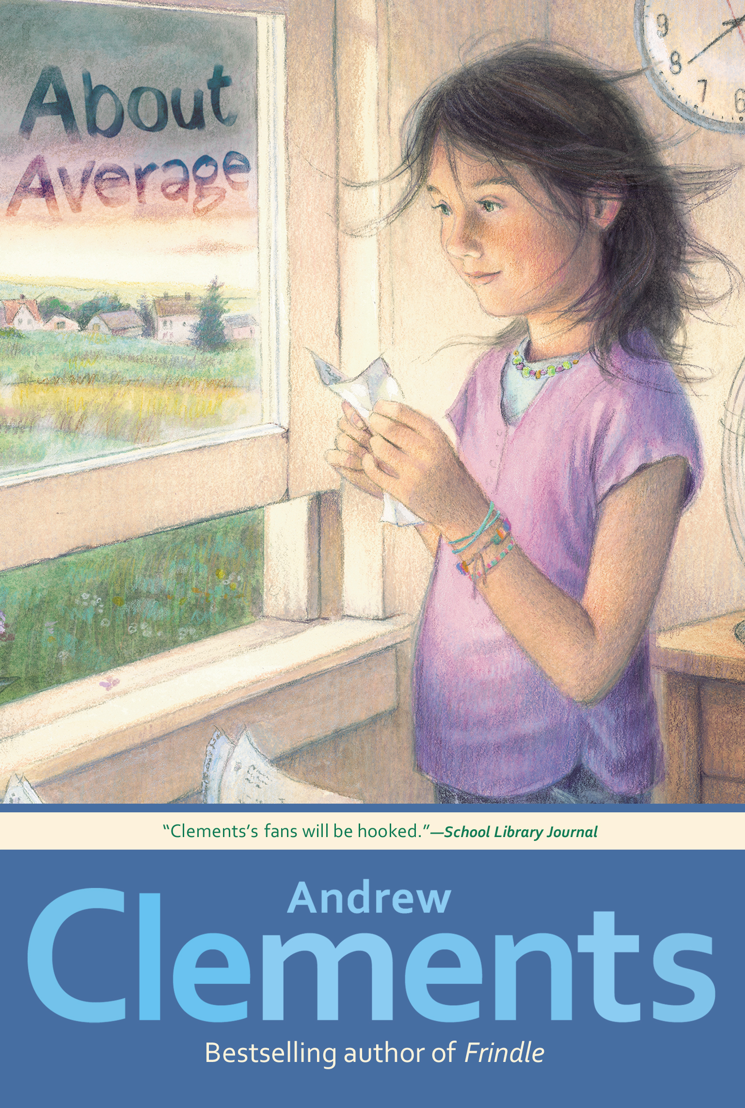About average book by andrew clements mark elliott official about average 9781416997252 hr publicscrutiny Gallery